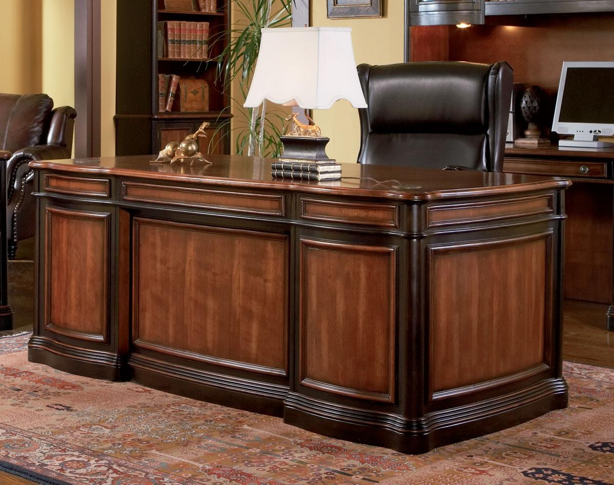 Pergola Grand Style Executive Home Office Desk From Coaster 800511 Coleman Furniture