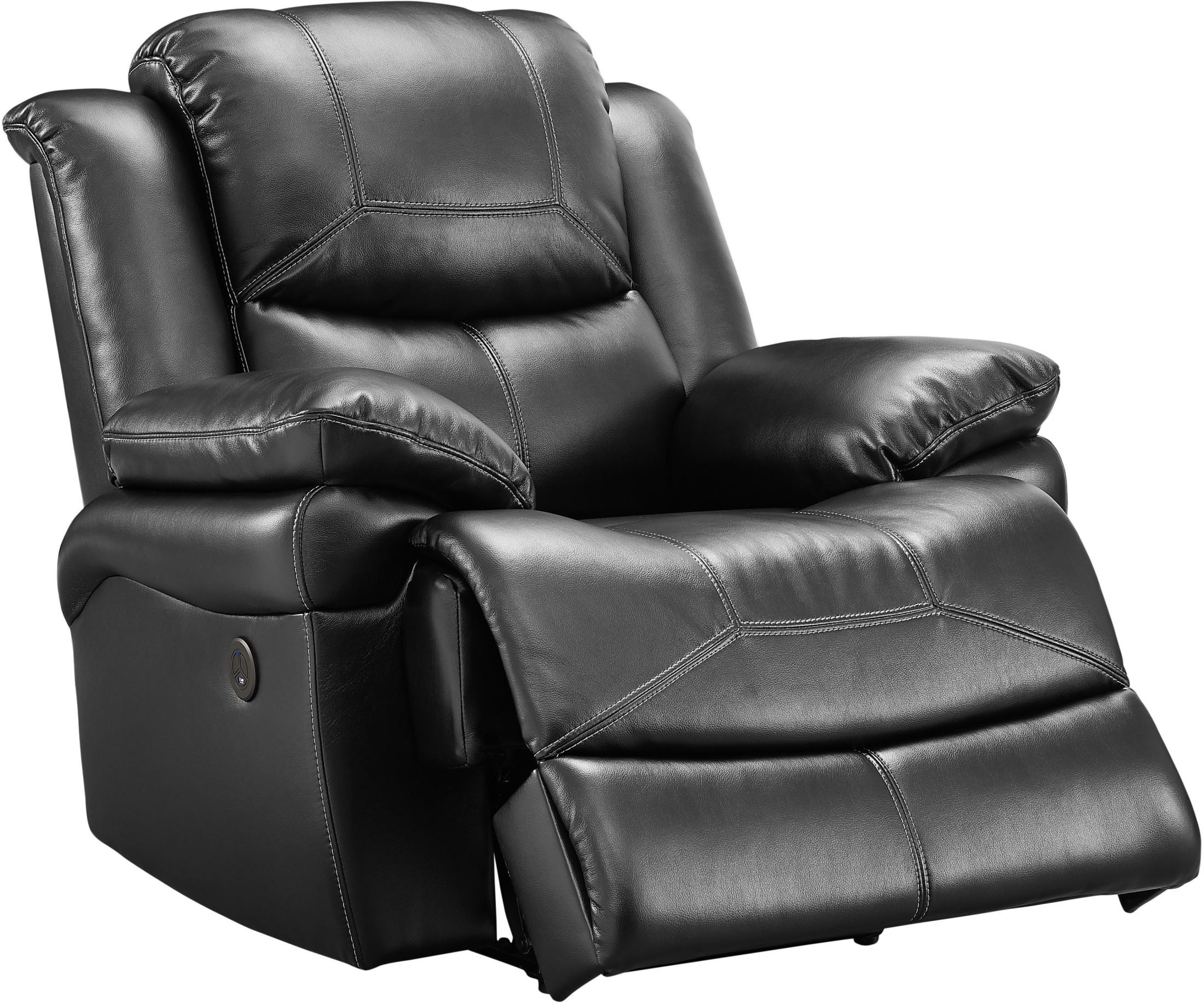 Flynn Premier Black Power Glider Recliner from New Classic