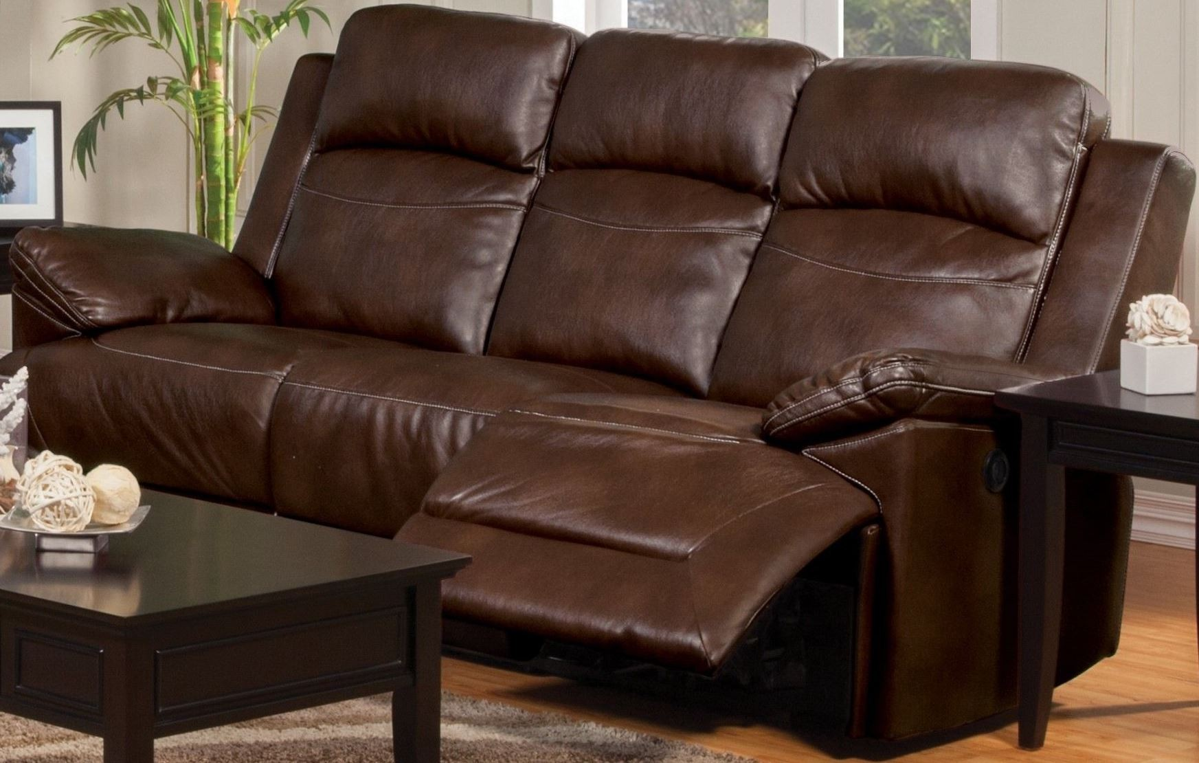 Cortez Brown Power Reclining Sofa From New Classic