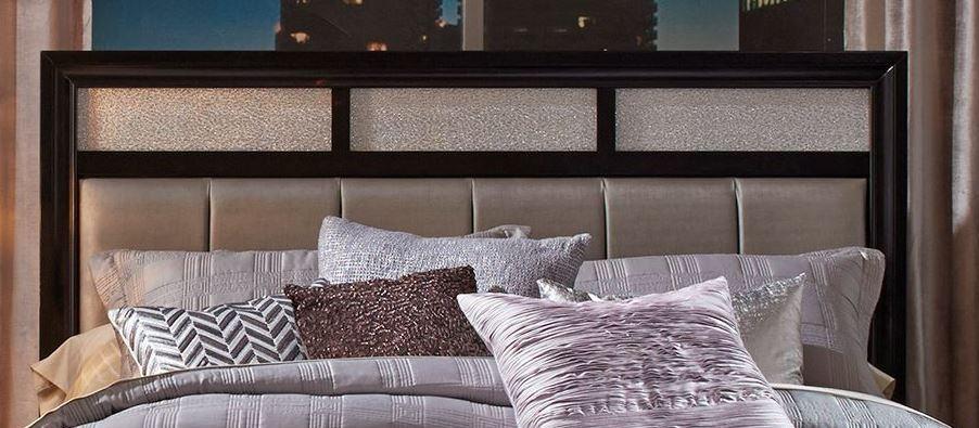 Barzini Black Platform Bedroom Set from Coaster | Coleman Furniture