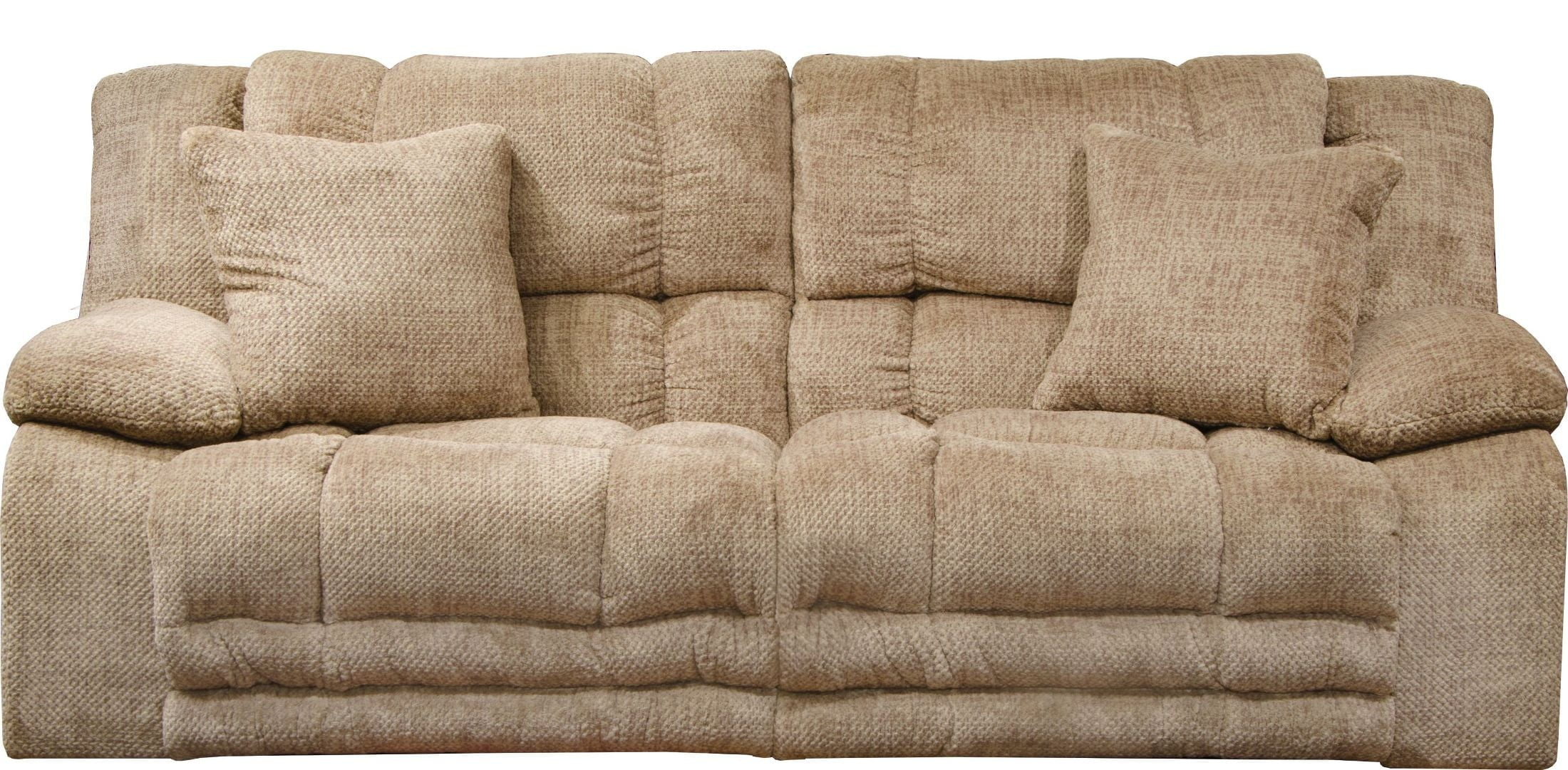 Branson Camel Lay Flat Power Reclining Sofa From Catnapper