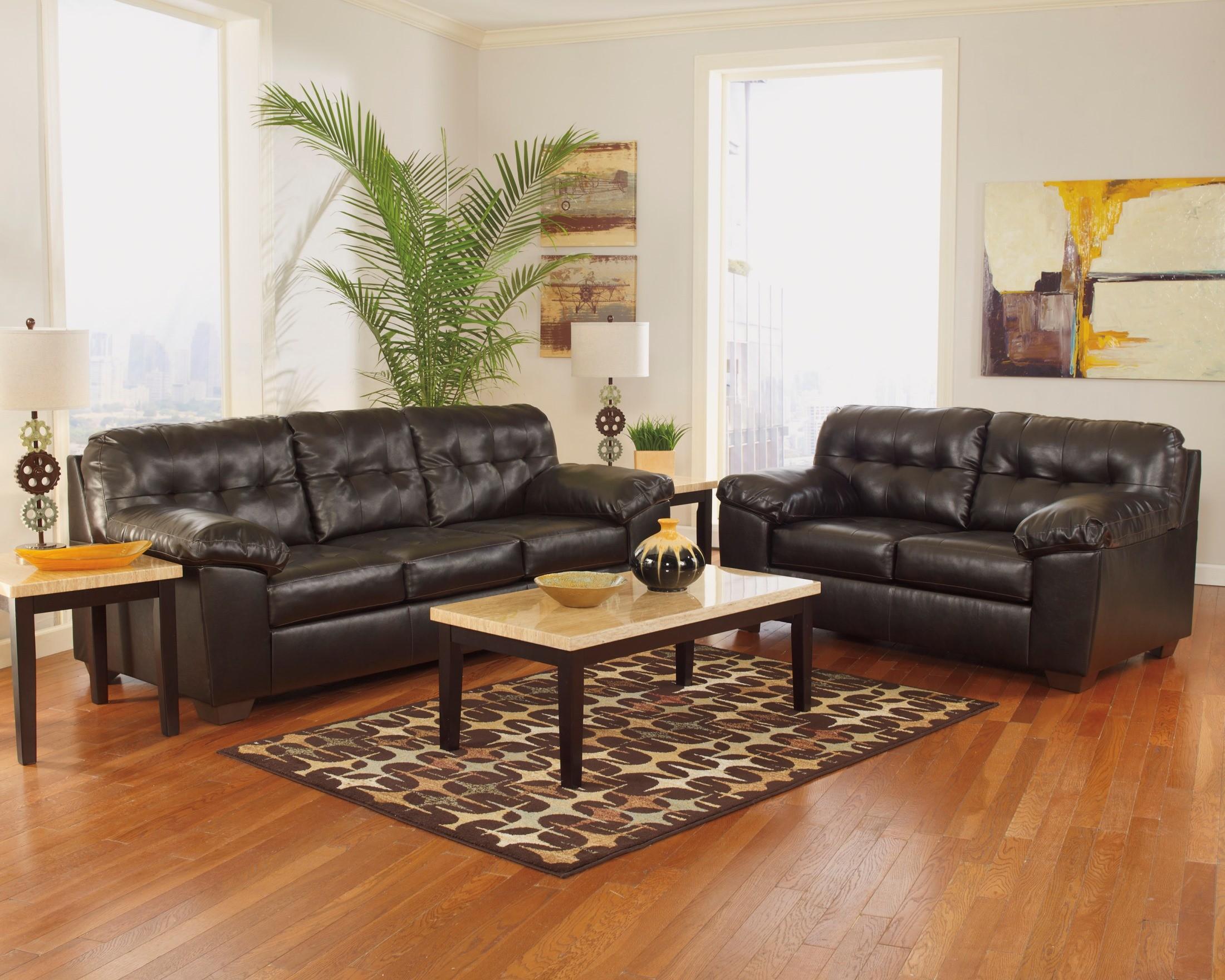 alliston durablend chocolate queen sofa sleeper from