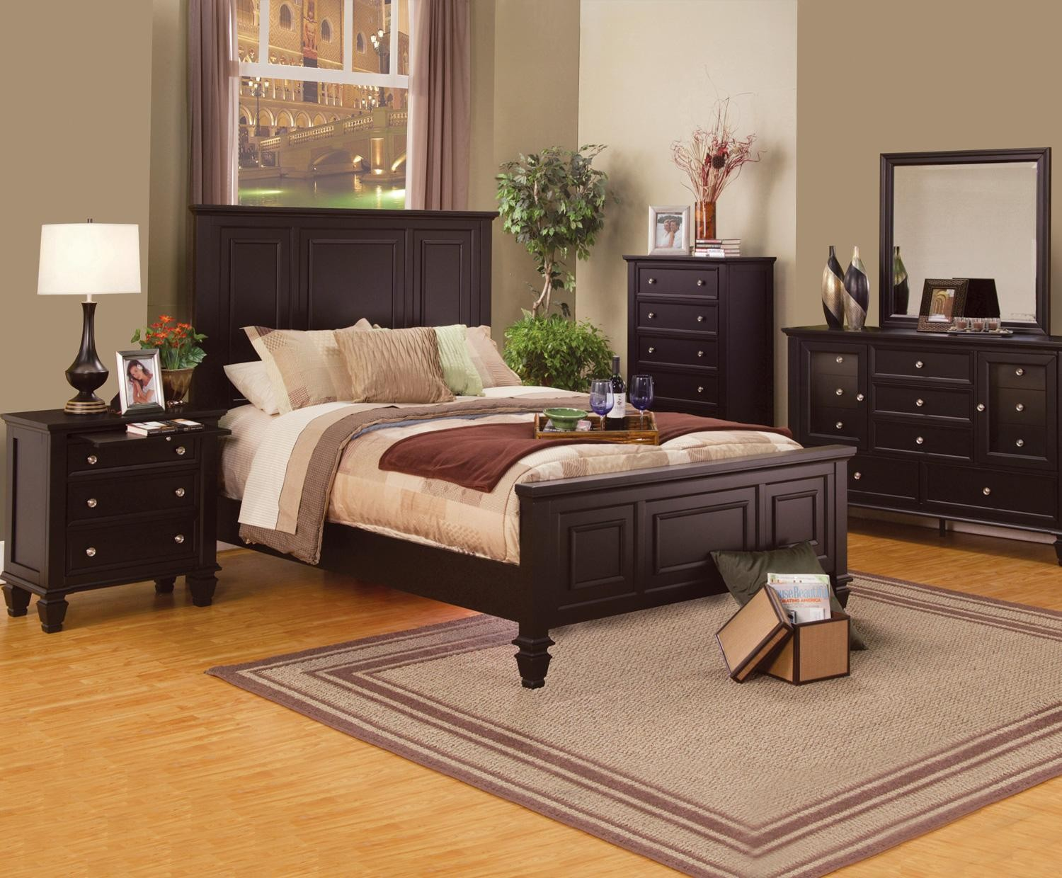 espresso bedroom set cappuccino bedroom set from coaster 201991 11513
