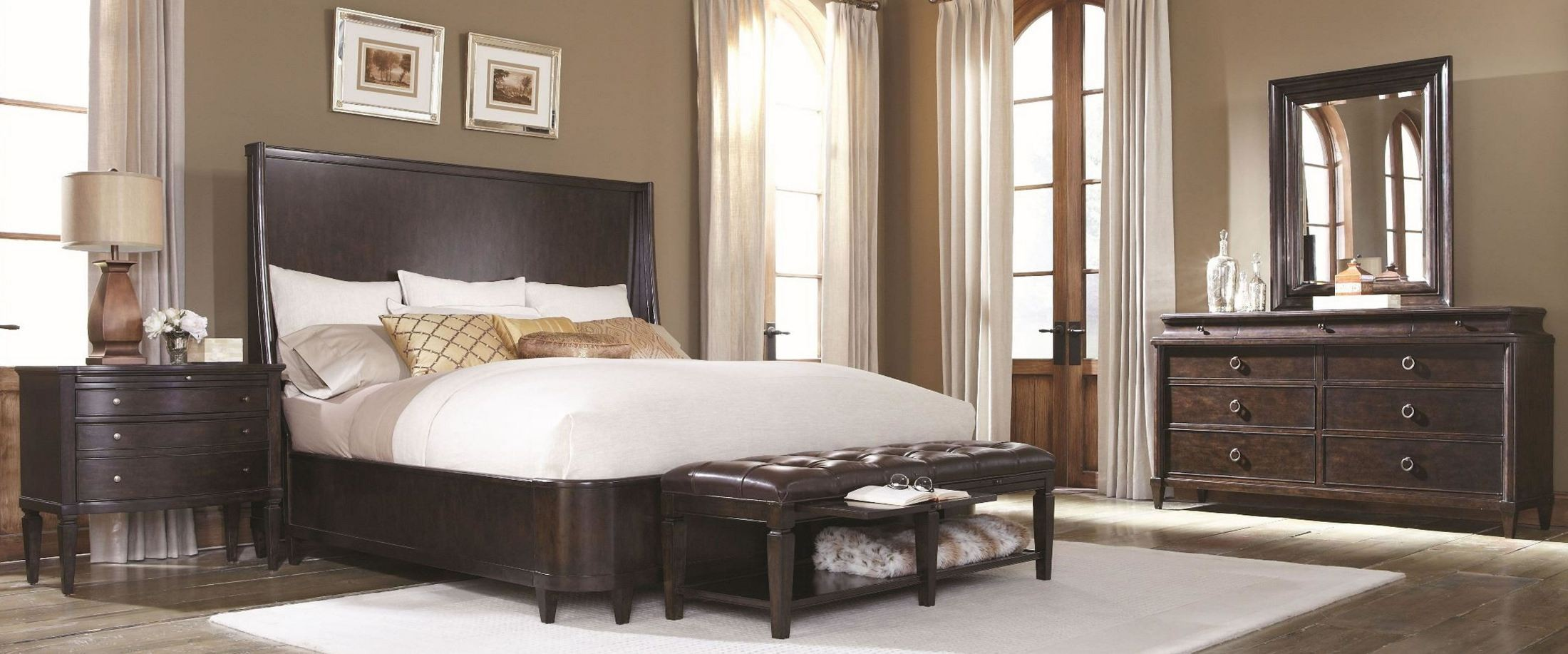 Classic Shelter Bedroom Set From ART (202165-1715