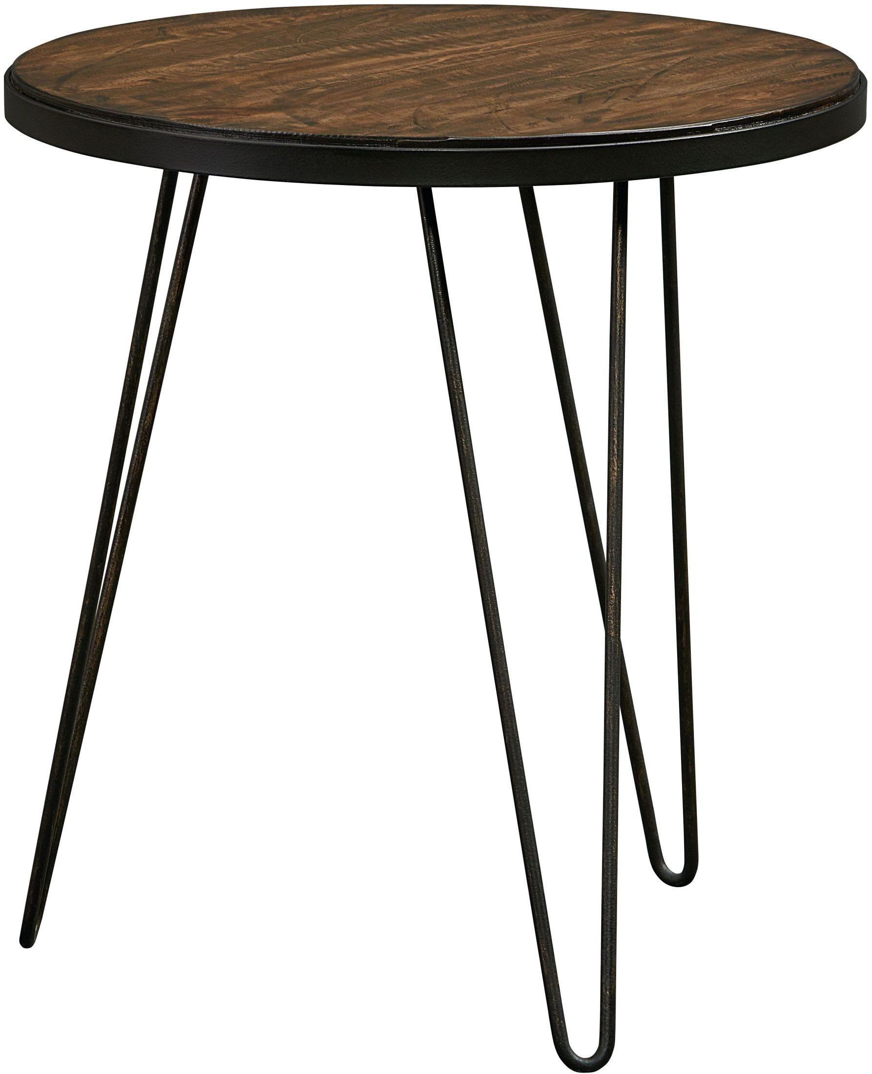 Paterno rustic brown end table from standard furniture