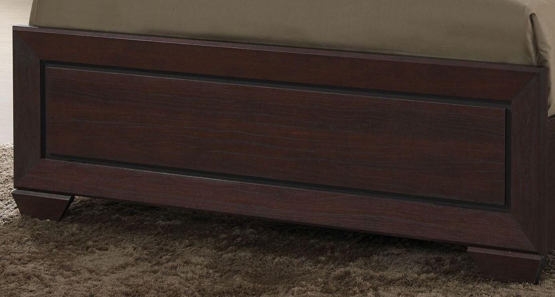 Fenbrook Dark Cocoa Panel Bedroom Set from Coaster | Coleman Furniture