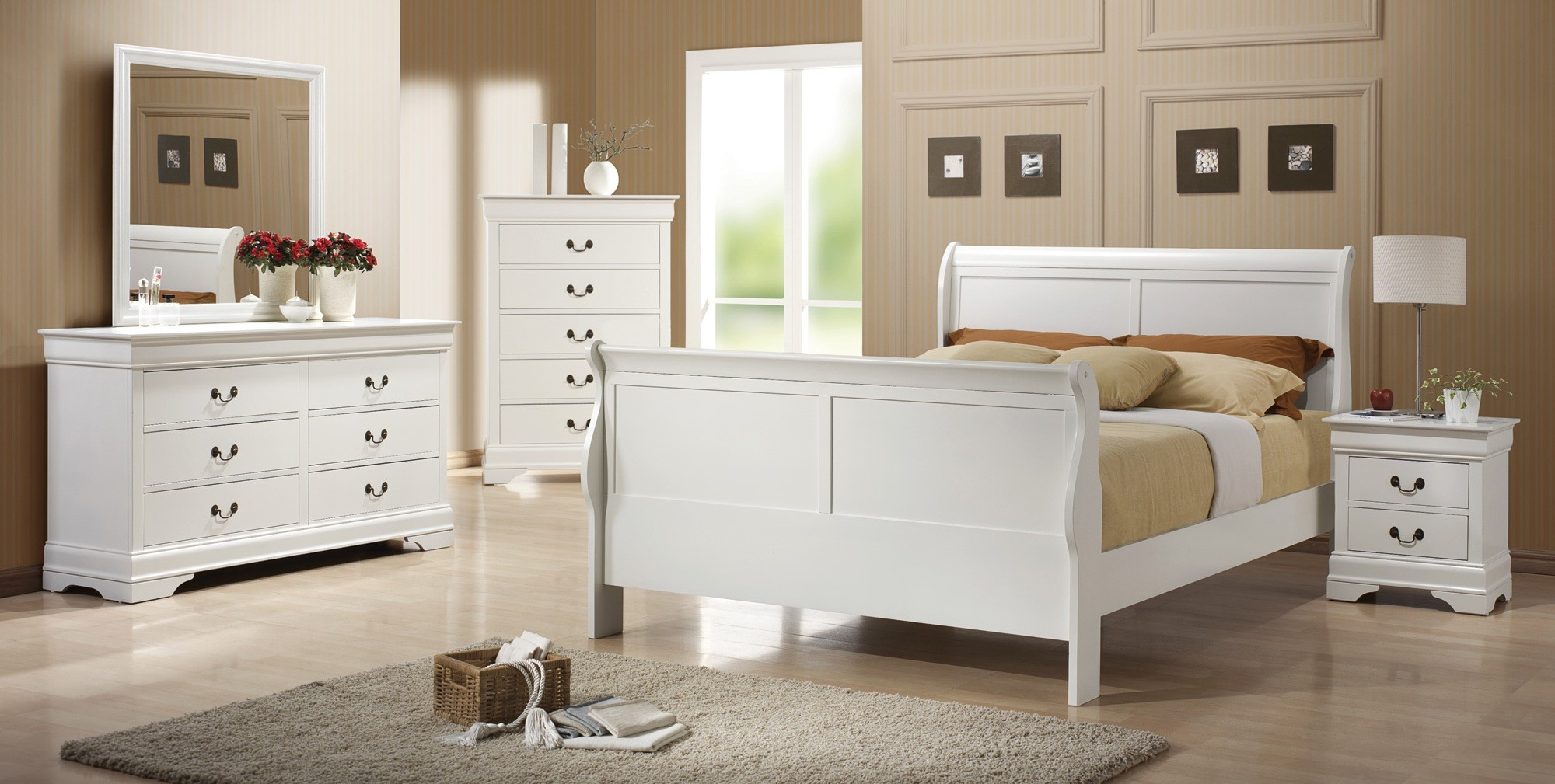 Louis Philippe White Youth Bedroom Set From Coaster