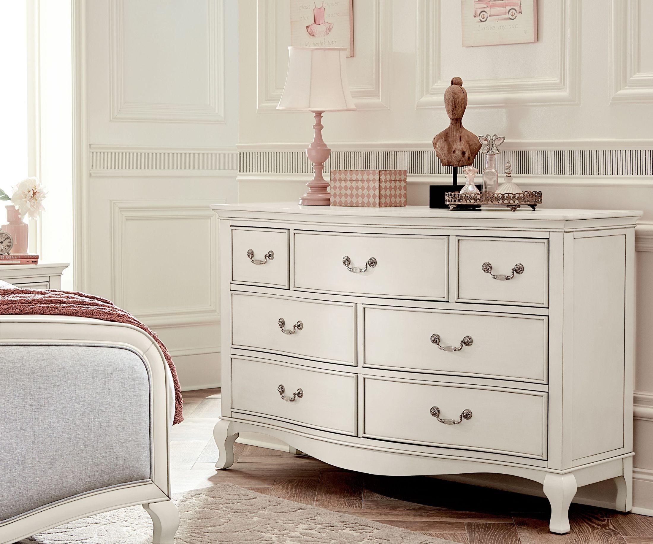 Kensington Antique White 7 Drawer Double Dresser From Ne Kids Coleman Furniture
