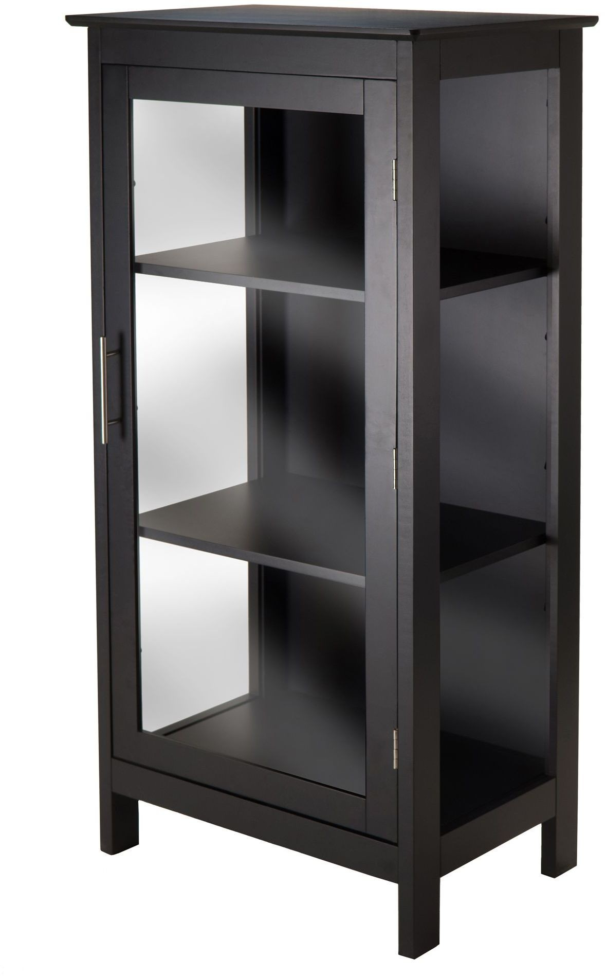 kitchen cabinets how to build poppy black display cabinet from winsomewood coleman 20523
