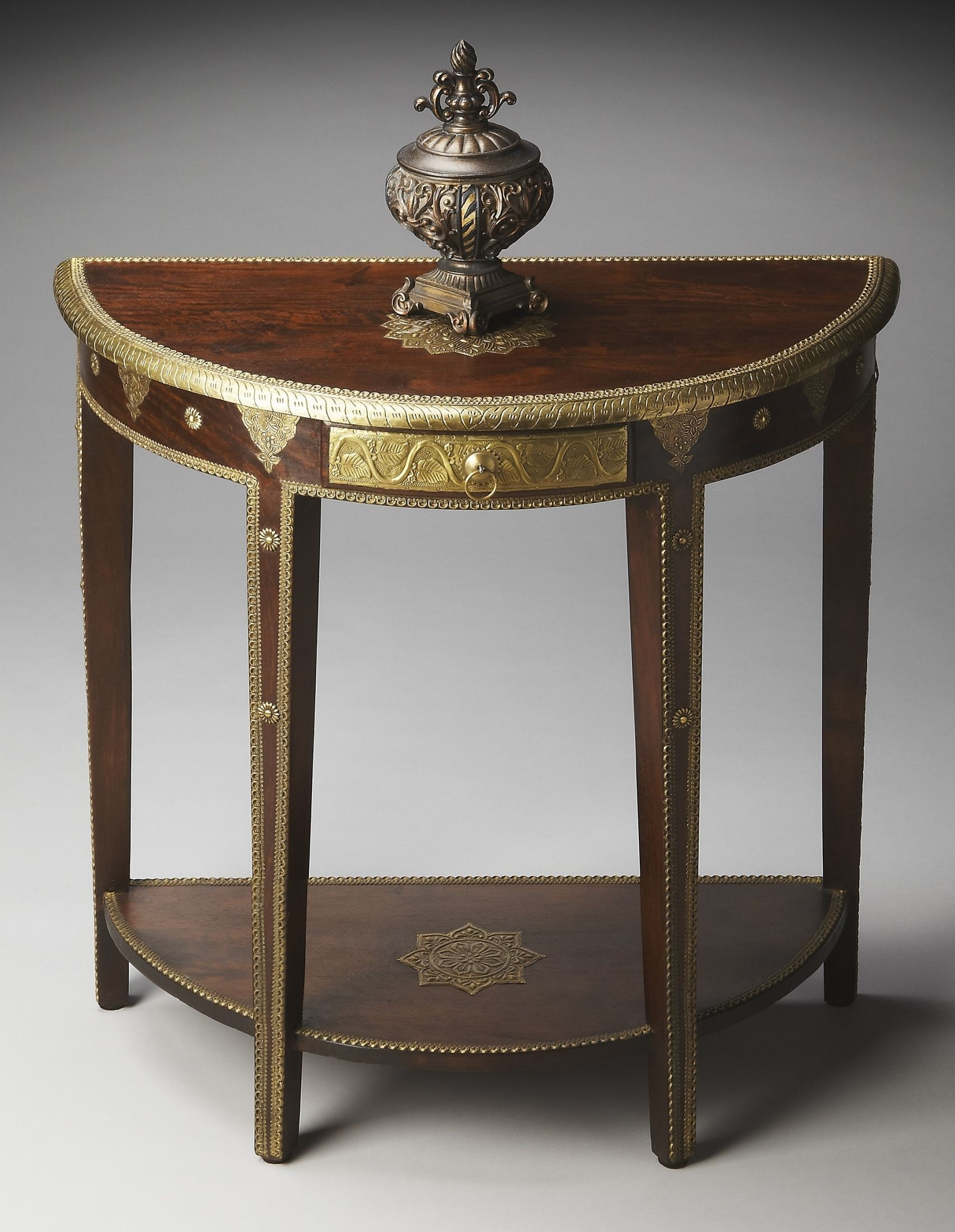 2054290 Artifacts Demilune Console Table From Butler