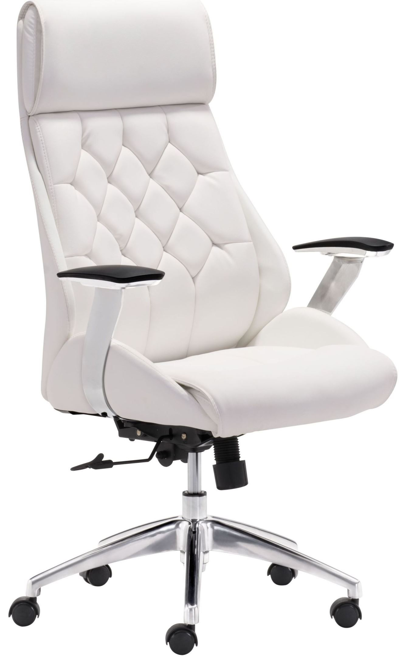 boutique white office chair from zuo mod 205891 coleman furniture. Black Bedroom Furniture Sets. Home Design Ideas