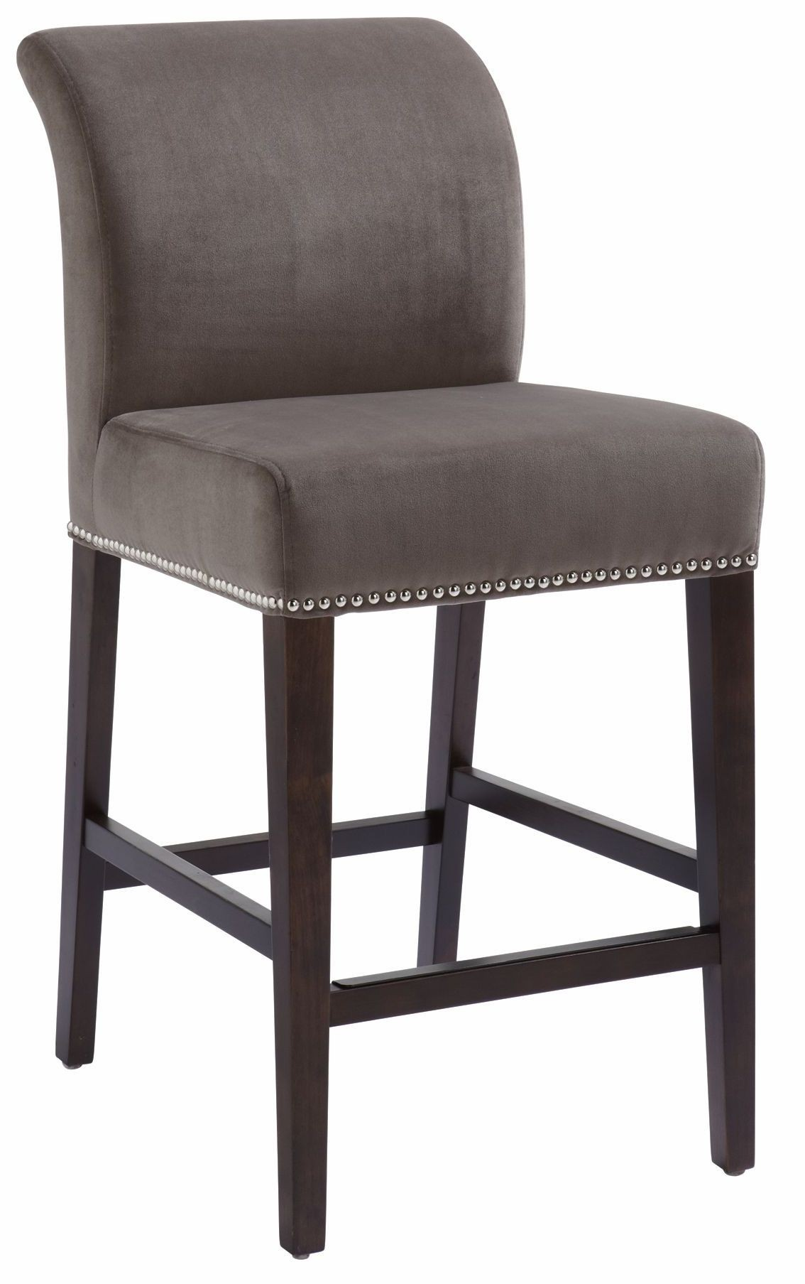 Prado Grey Fabric Counter Stool From Sunpan 20678
