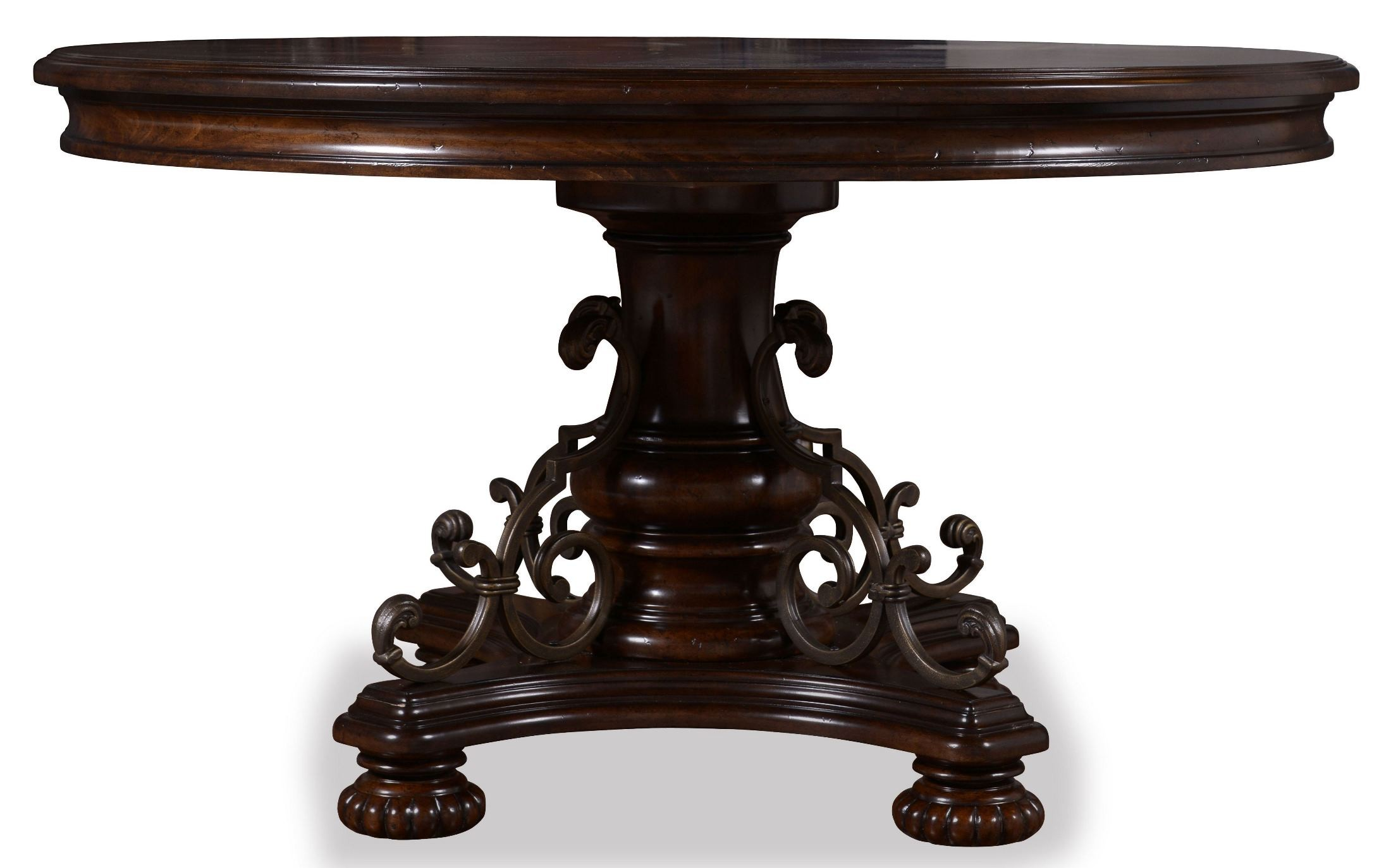 valencia counter height round dining table from art coleman furniture. Black Bedroom Furniture Sets. Home Design Ideas