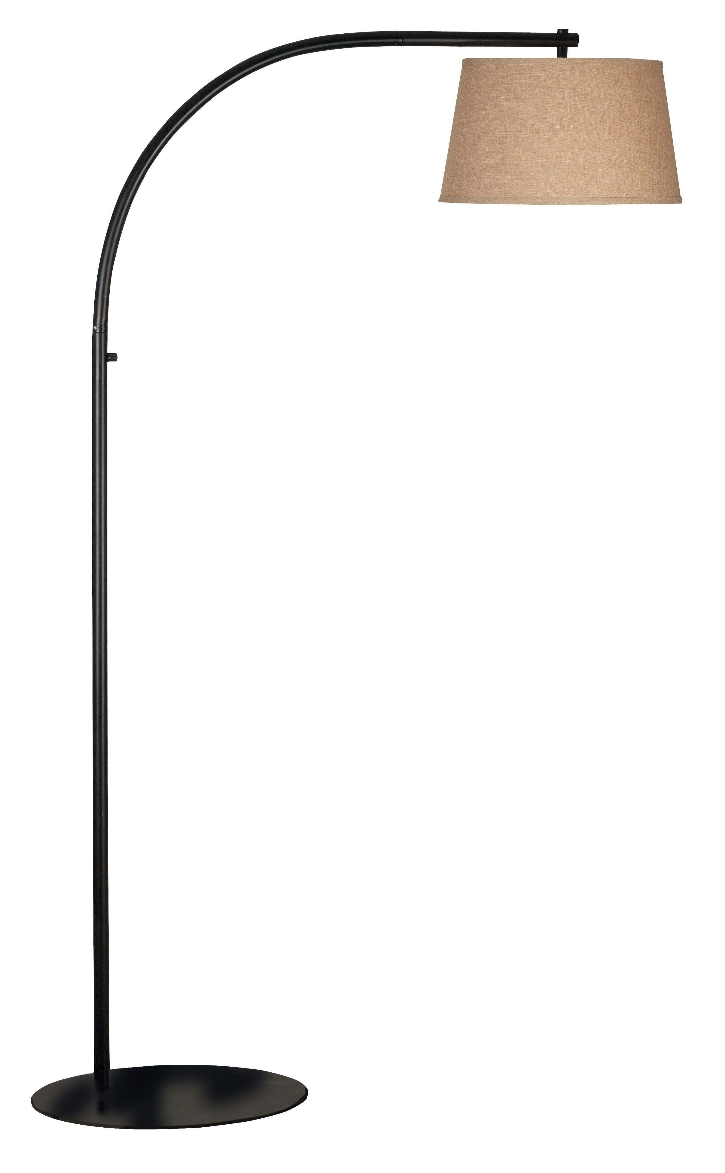 Sweep Floor Lamp from Kenroy (20953ORB)