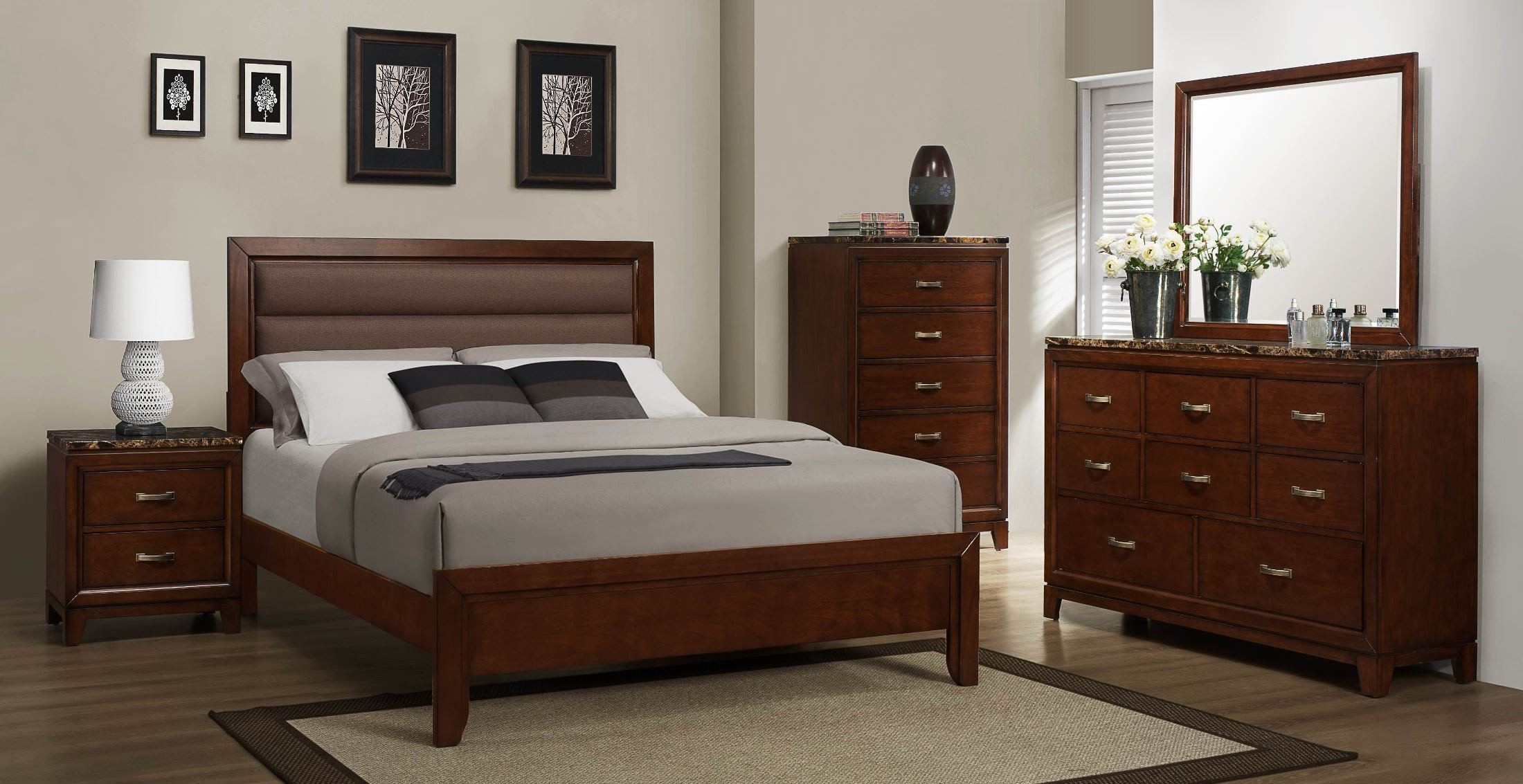 Ottowa Panel Bedroom Set From Homelegance 2112 1 Coleman Furniture