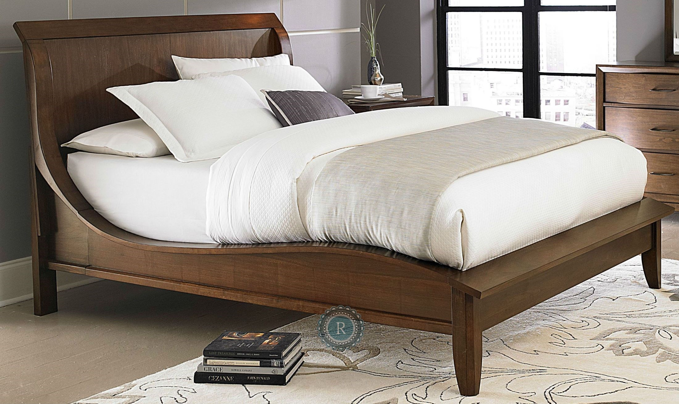 Kasler Cal King Sleigh Bed From Homelegance 2135k 1ck Coleman Furniture