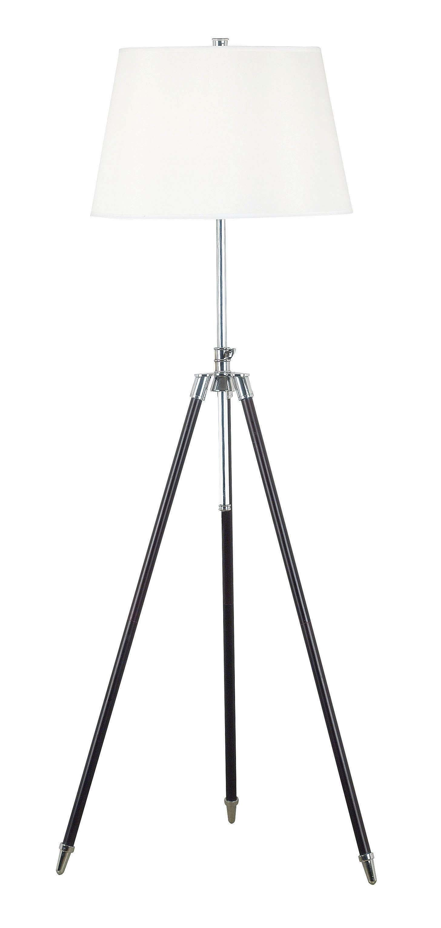 Surveyor floor lamp from kenroy 21521orb coleman furniture for Surveyors floor lamp wood