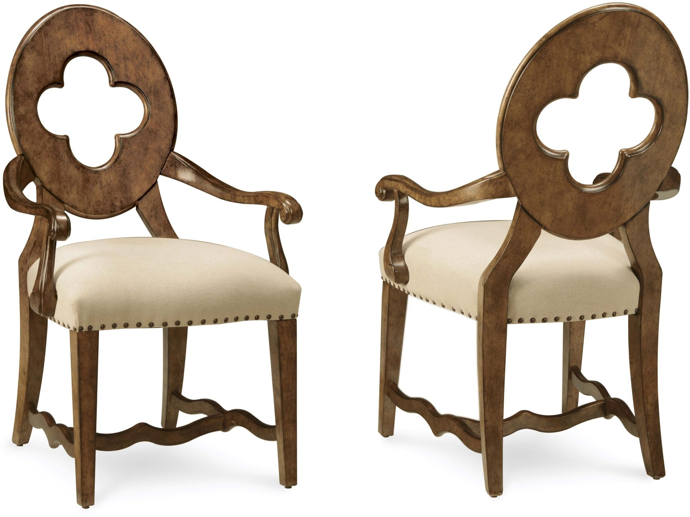 Collection One Tortoise Drake Arm Chair Set Of 2 From Art