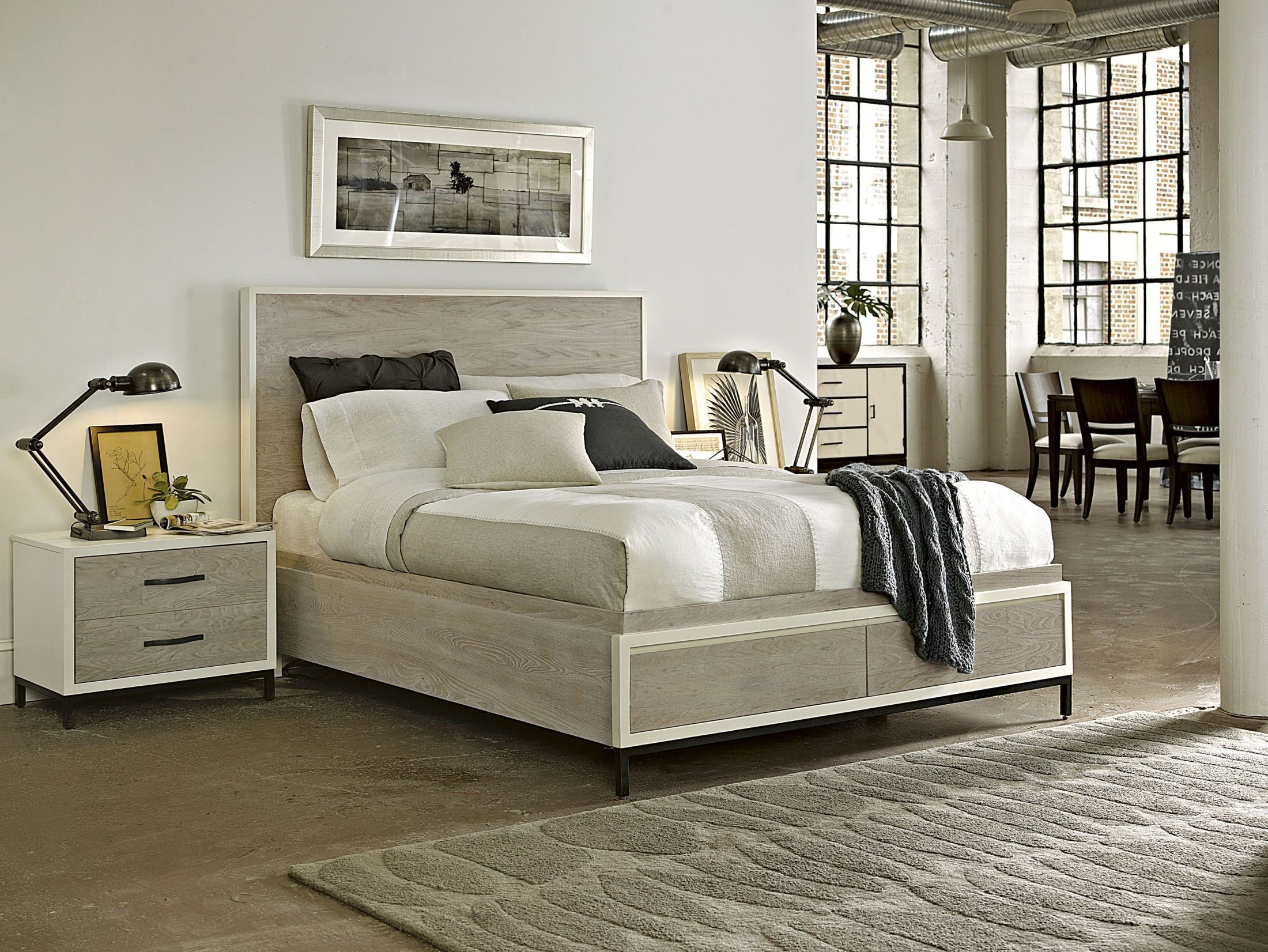 Spencer King Storage Bed From Universal 219220sb