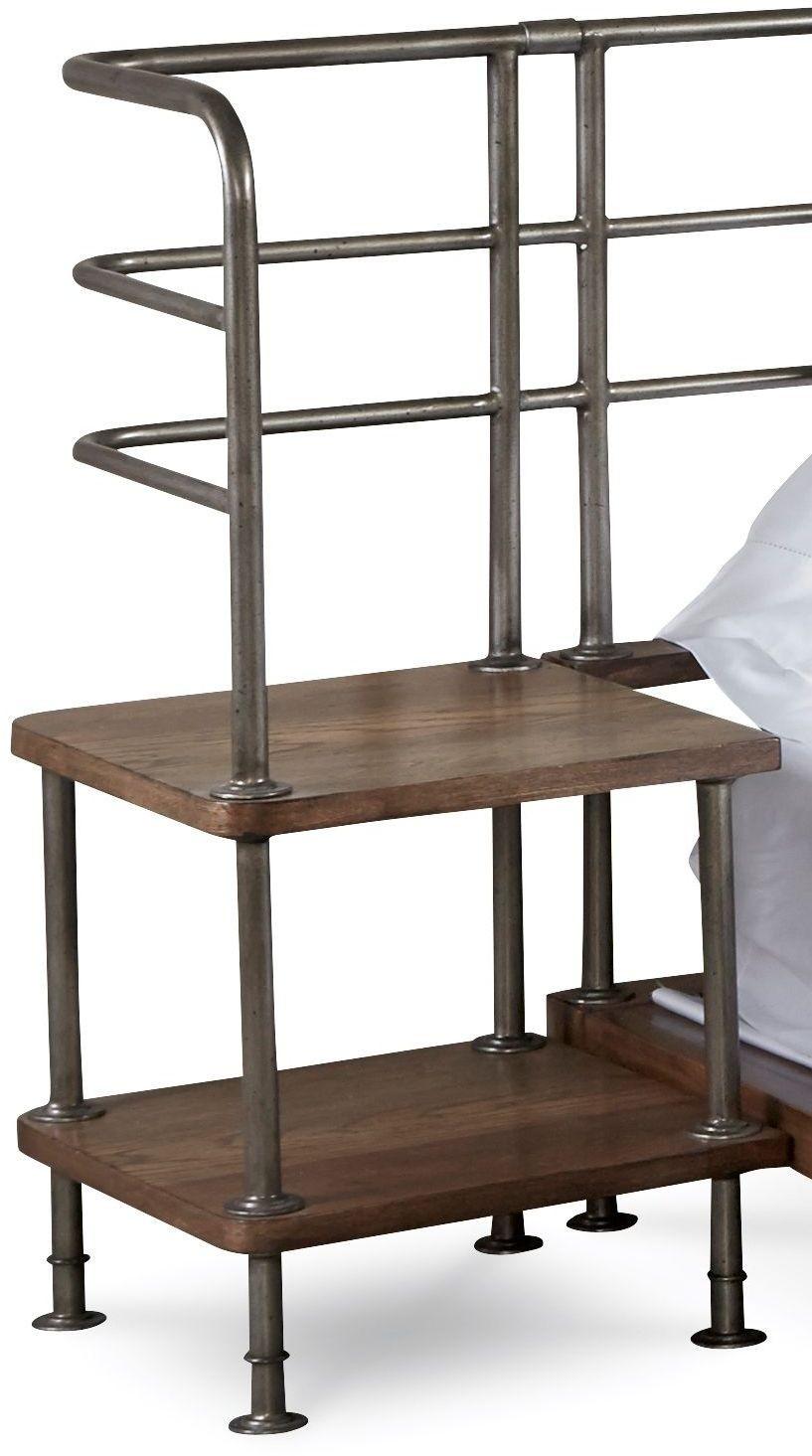 epicenters light oak king nightstands set of 2 from art coleman furniture. Black Bedroom Furniture Sets. Home Design Ideas