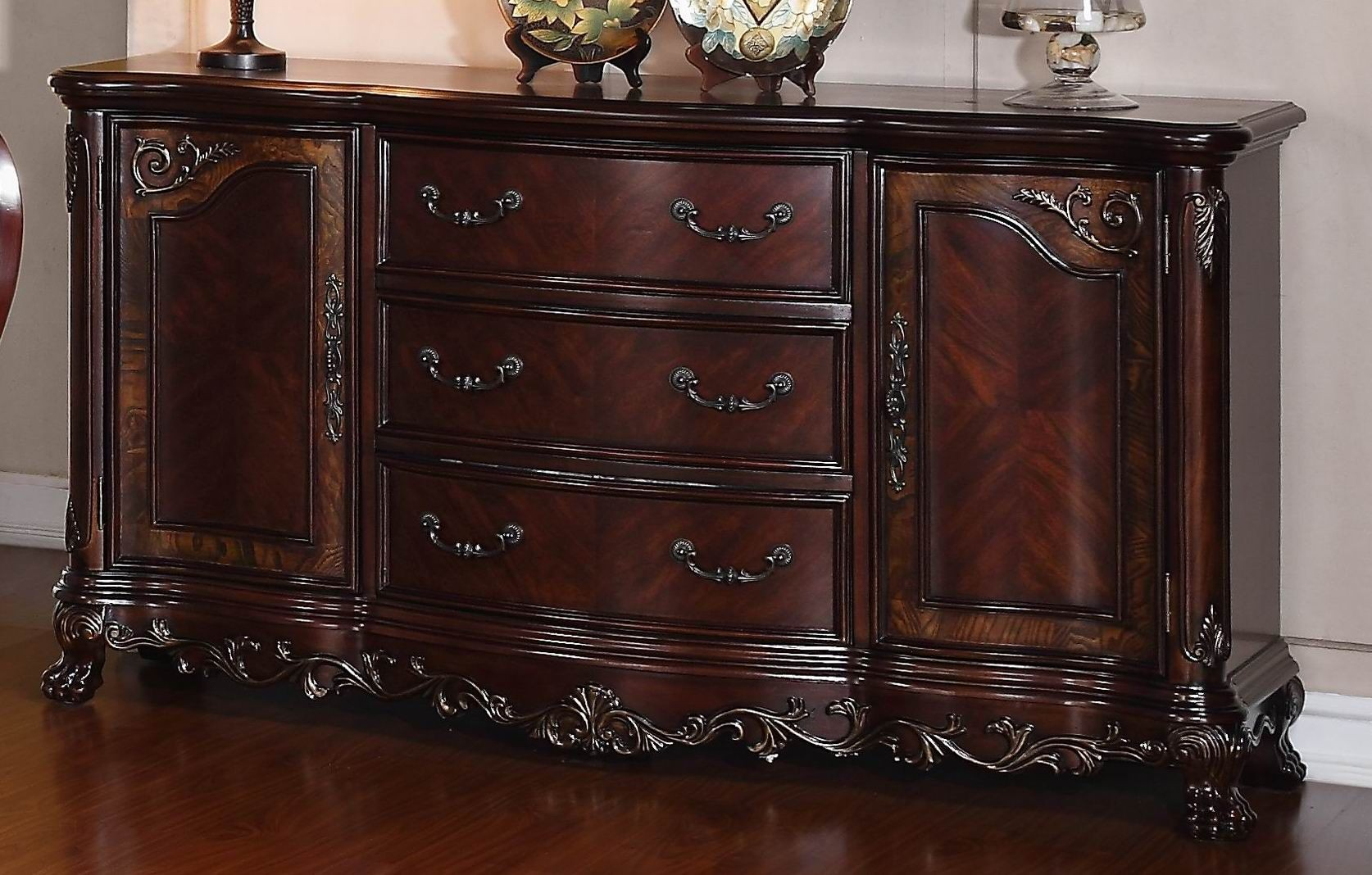 Deryn Park Cherry BuffetServer from Homelegance 2243 55  : 2243 55 from colemanfurniture.com size 1674 x 1068 jpeg 332kB