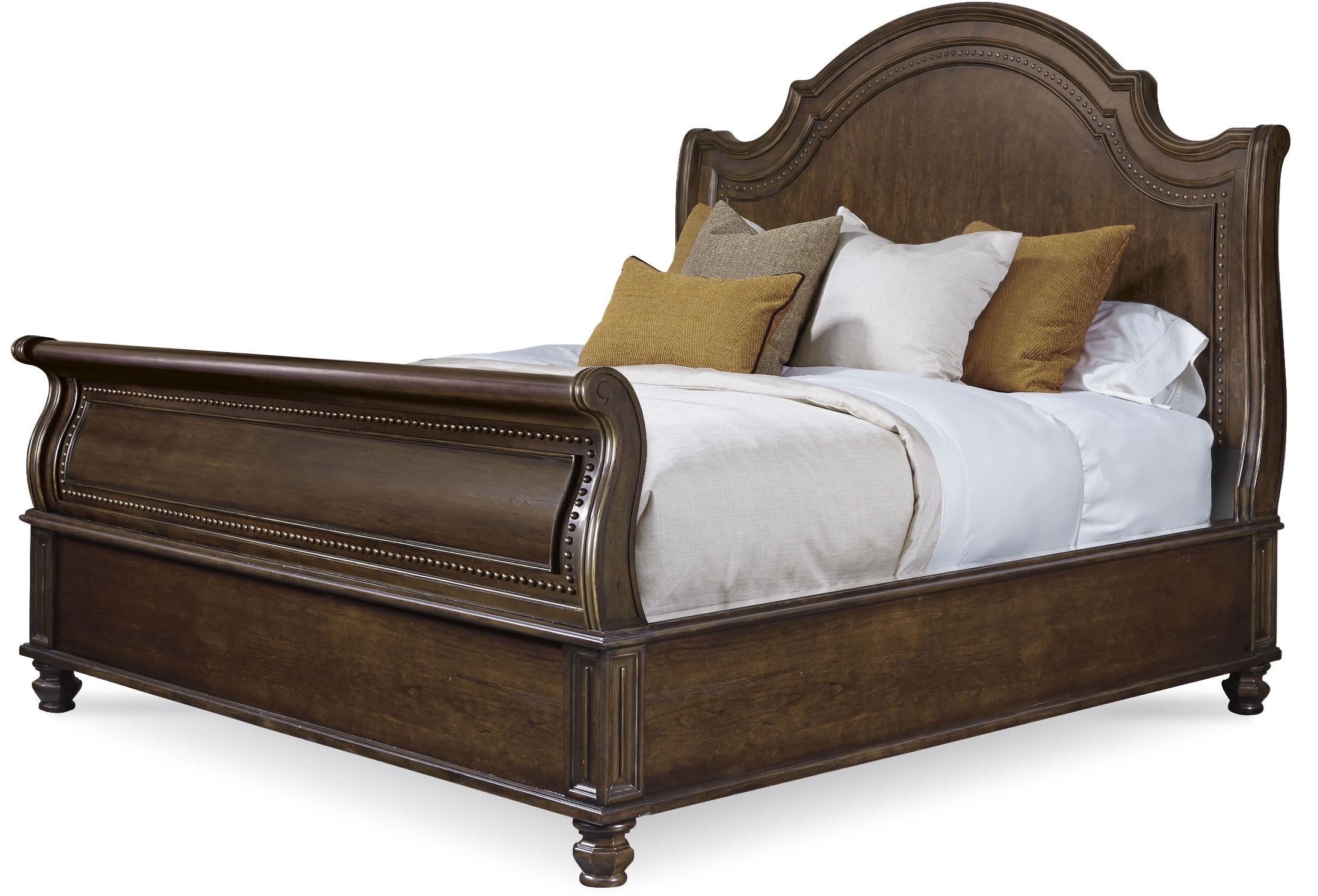 la viera queen sleigh bed from art 225155 2107 coleman furniture. Black Bedroom Furniture Sets. Home Design Ideas