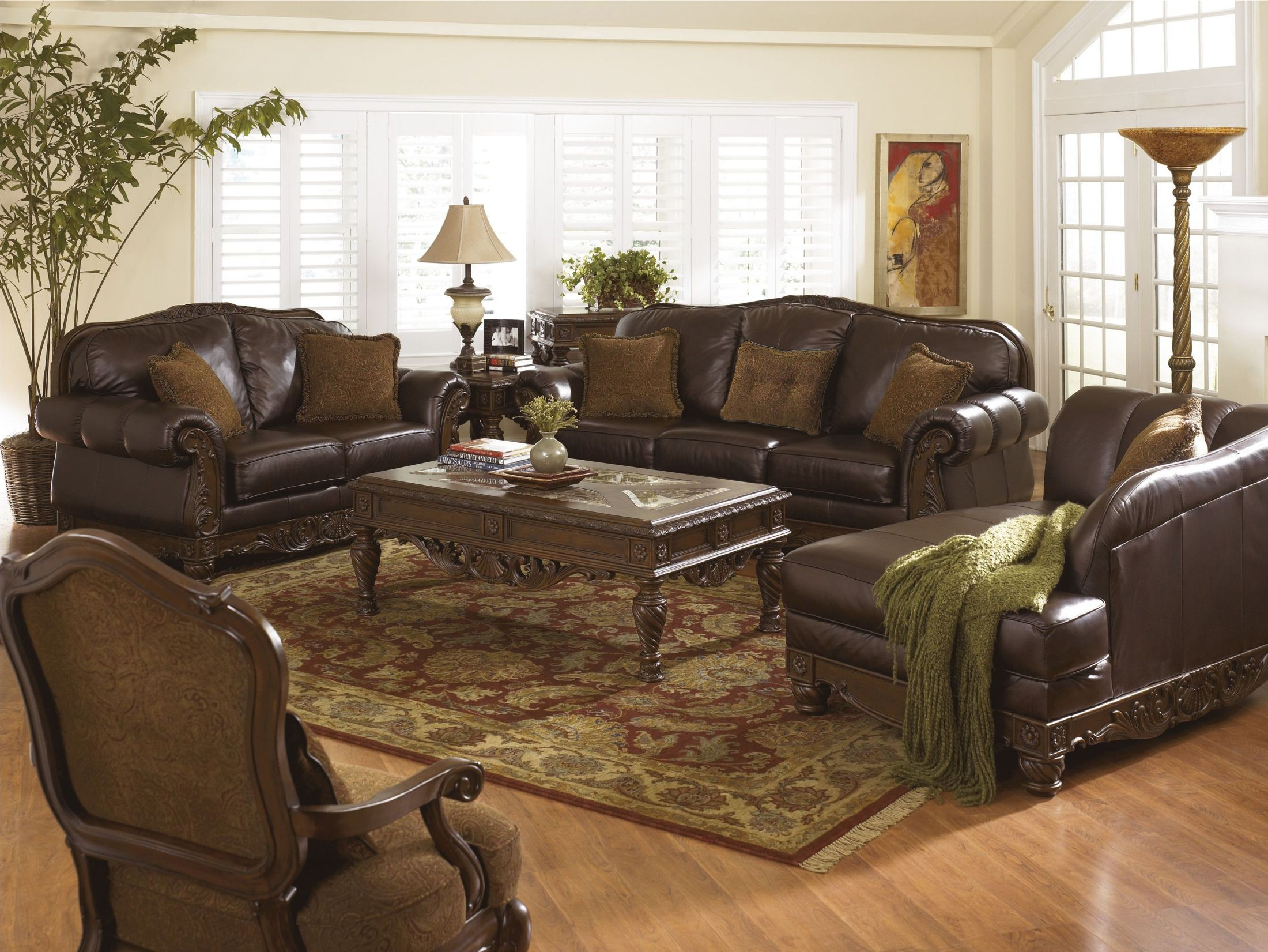 Beau North Shore Dark Brown Living Room Furniture From Millennium By Ashley. Old  Vs New   Buying Furniture Online. 2296278