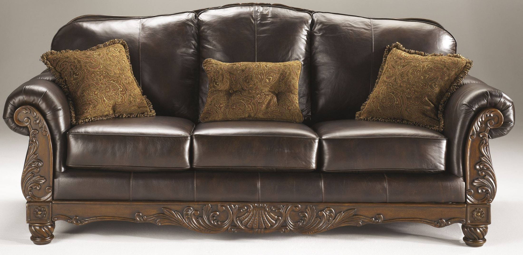 North Shore Dark Brown Living Room Set from Ashley
