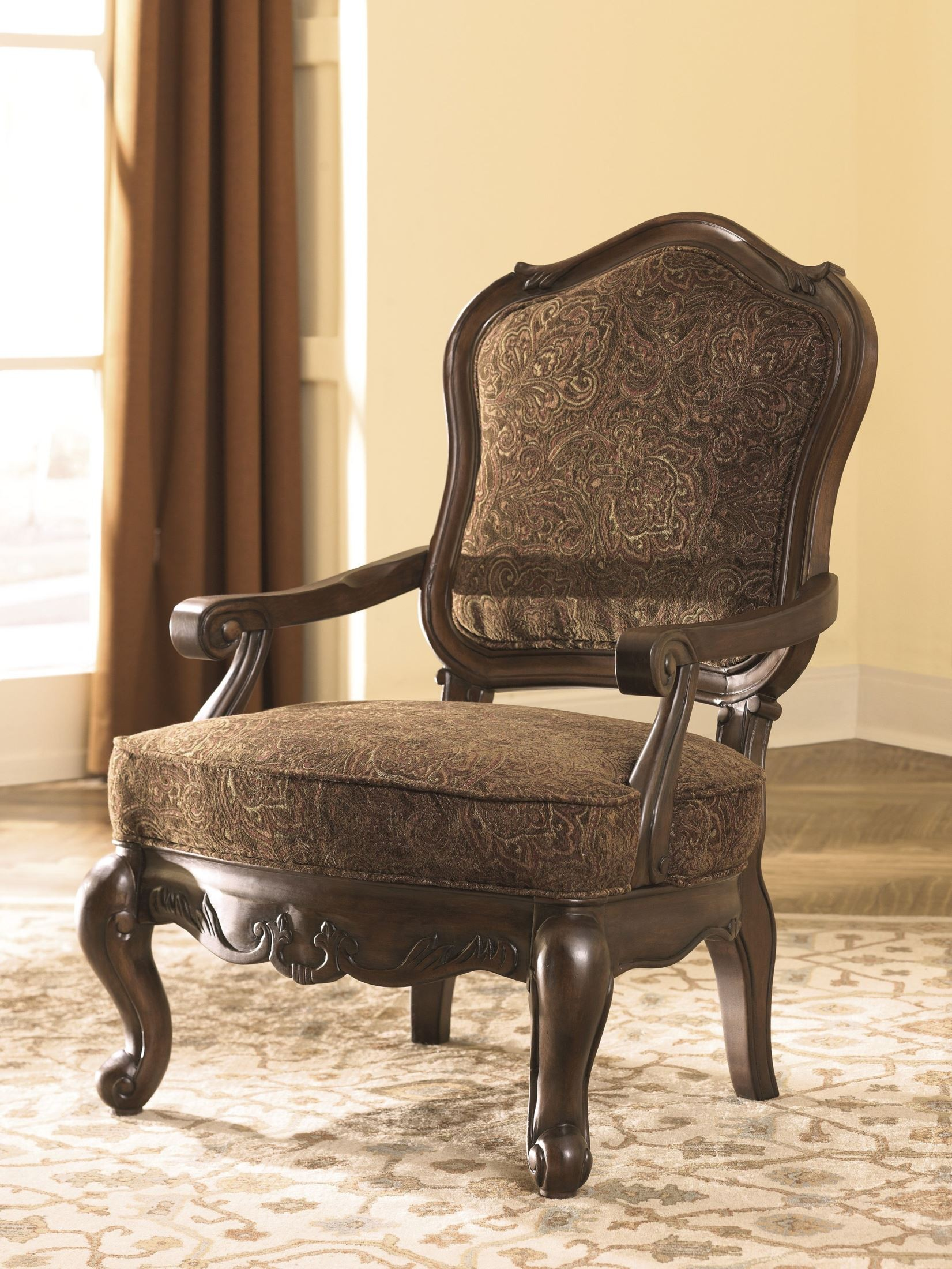 Impressive Ashley Accent Chairs Set