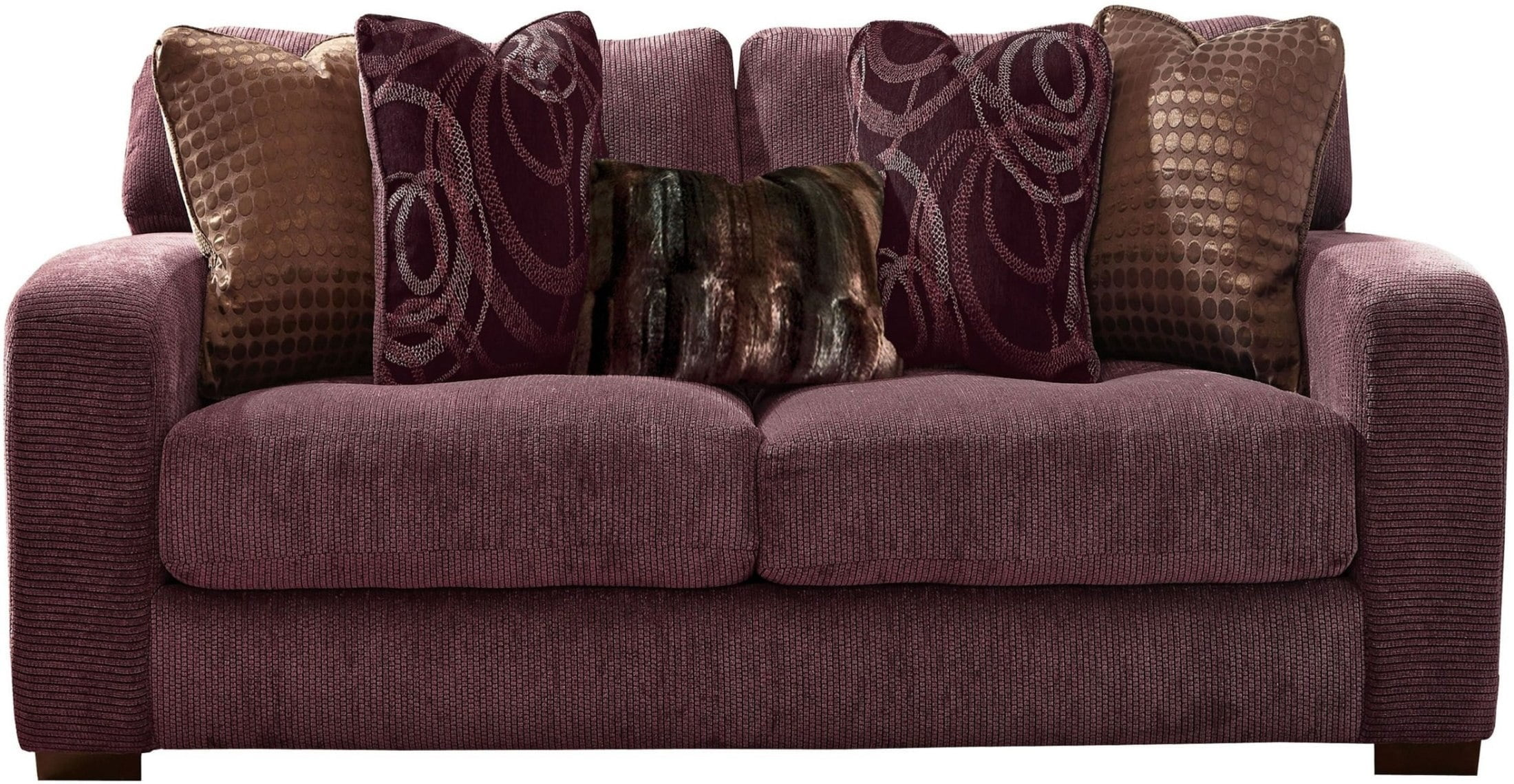 stock out seater p asp loveseat plum purple clara of sofa