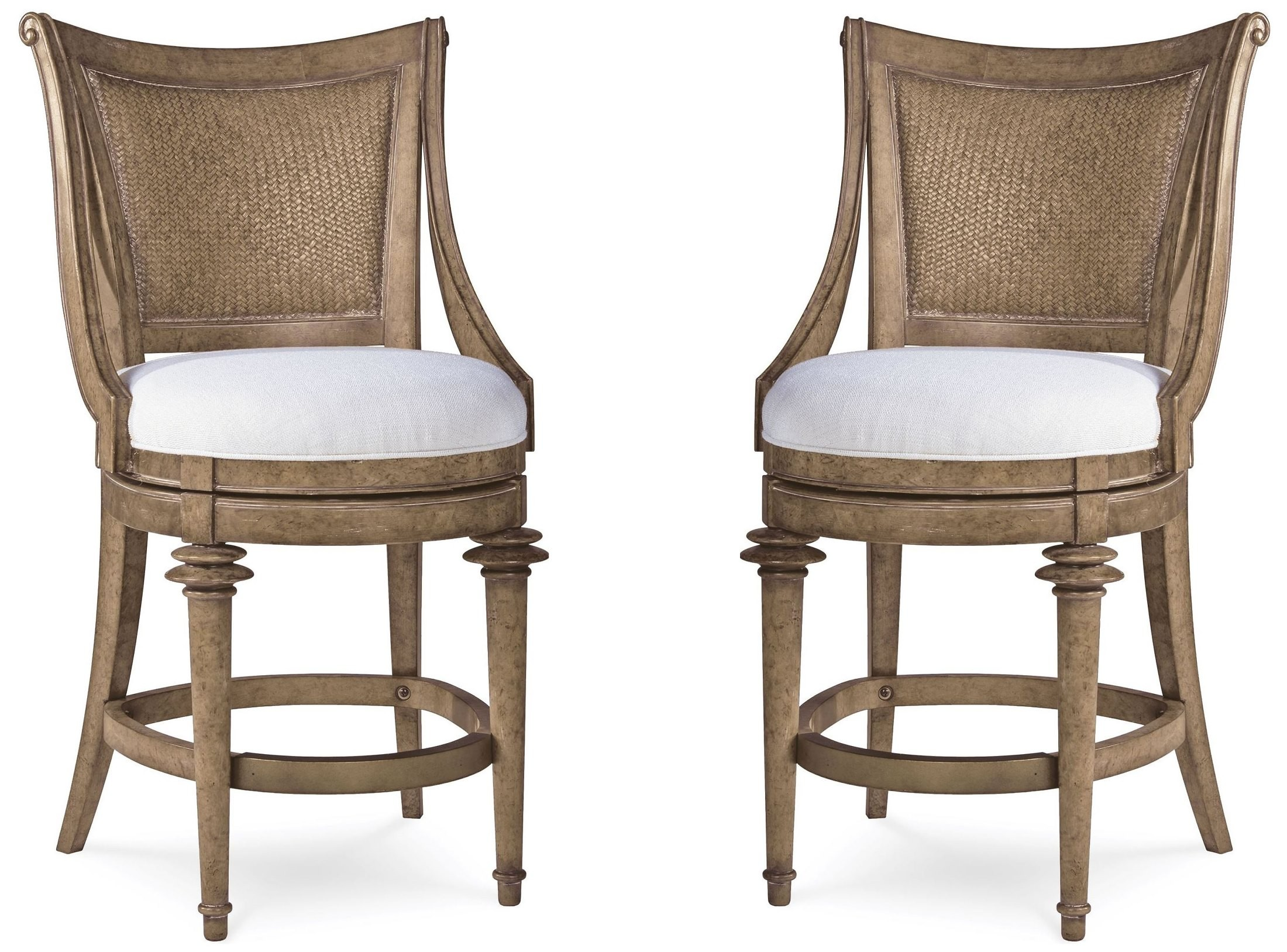 Pavilion woven back high dining chair from art 229209 for High chair dining set