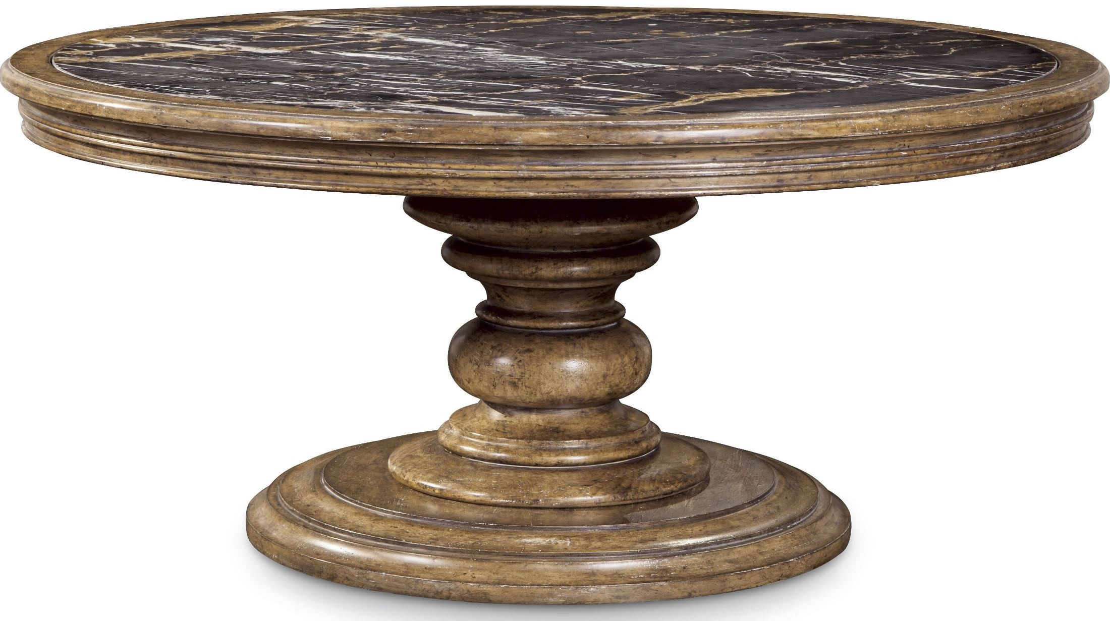 Pavilion Rustic Pine Round Cocktail Table From Art 229301 2608 Coleman Furniture