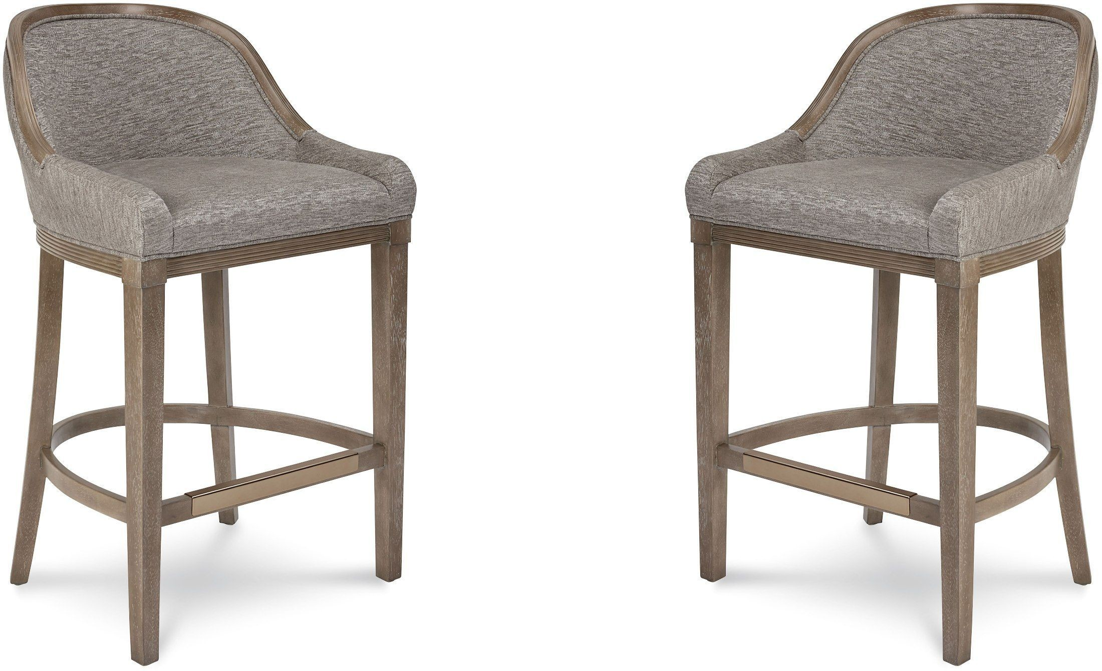 Cityscapes Stone Lincoln Bar Stool Set Of 2 From ART