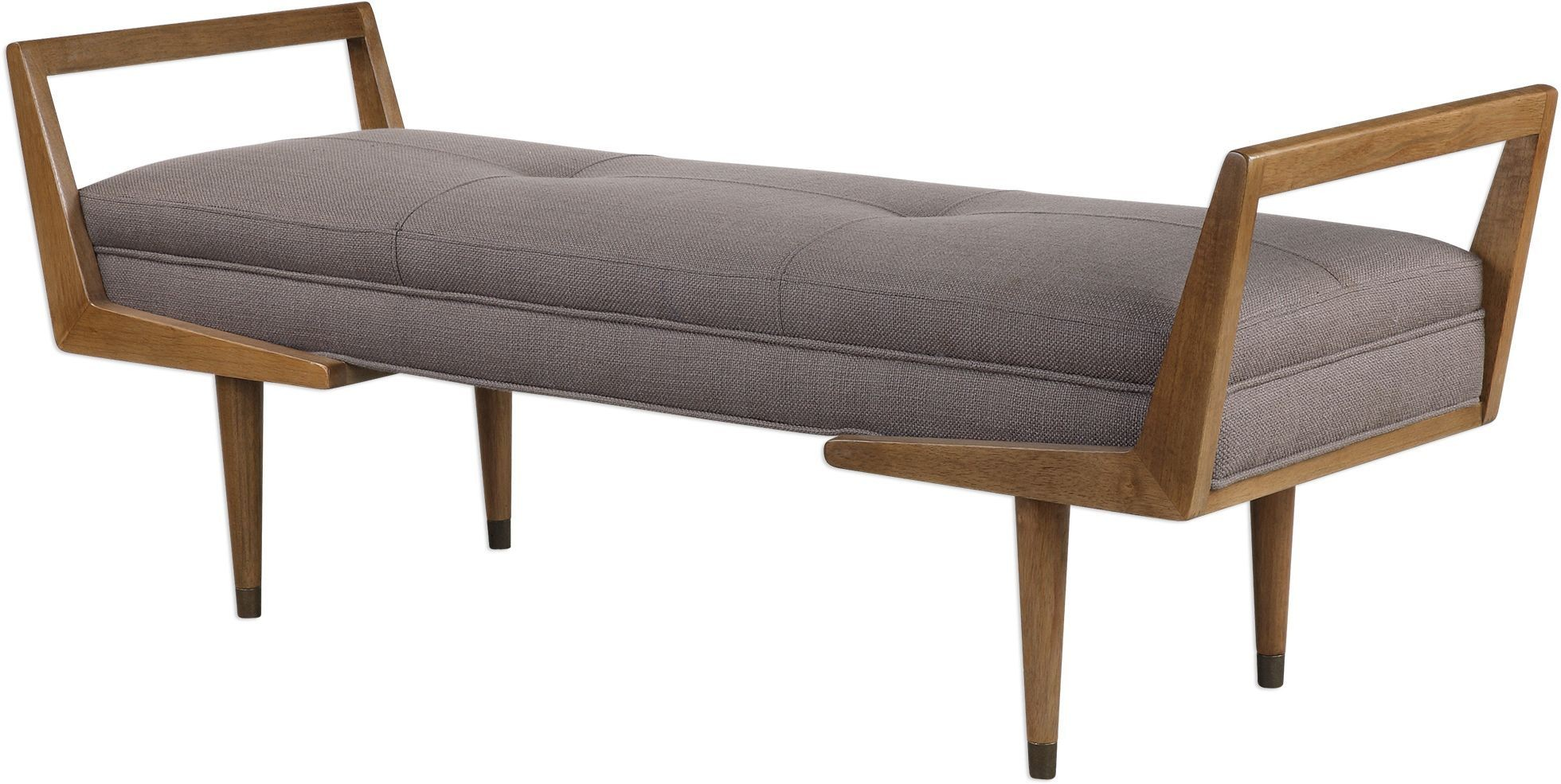 Waylon Mid Century Modern Bench From Uttermost Coleman Furniture
