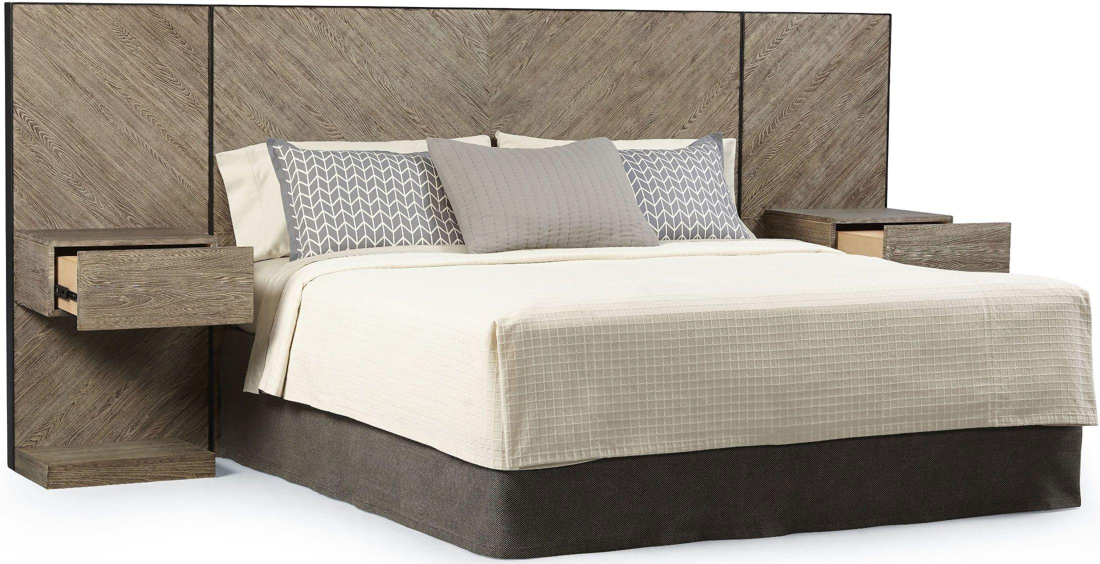 epicenters austin brown cedar park wall king panel bed. Black Bedroom Furniture Sets. Home Design Ideas