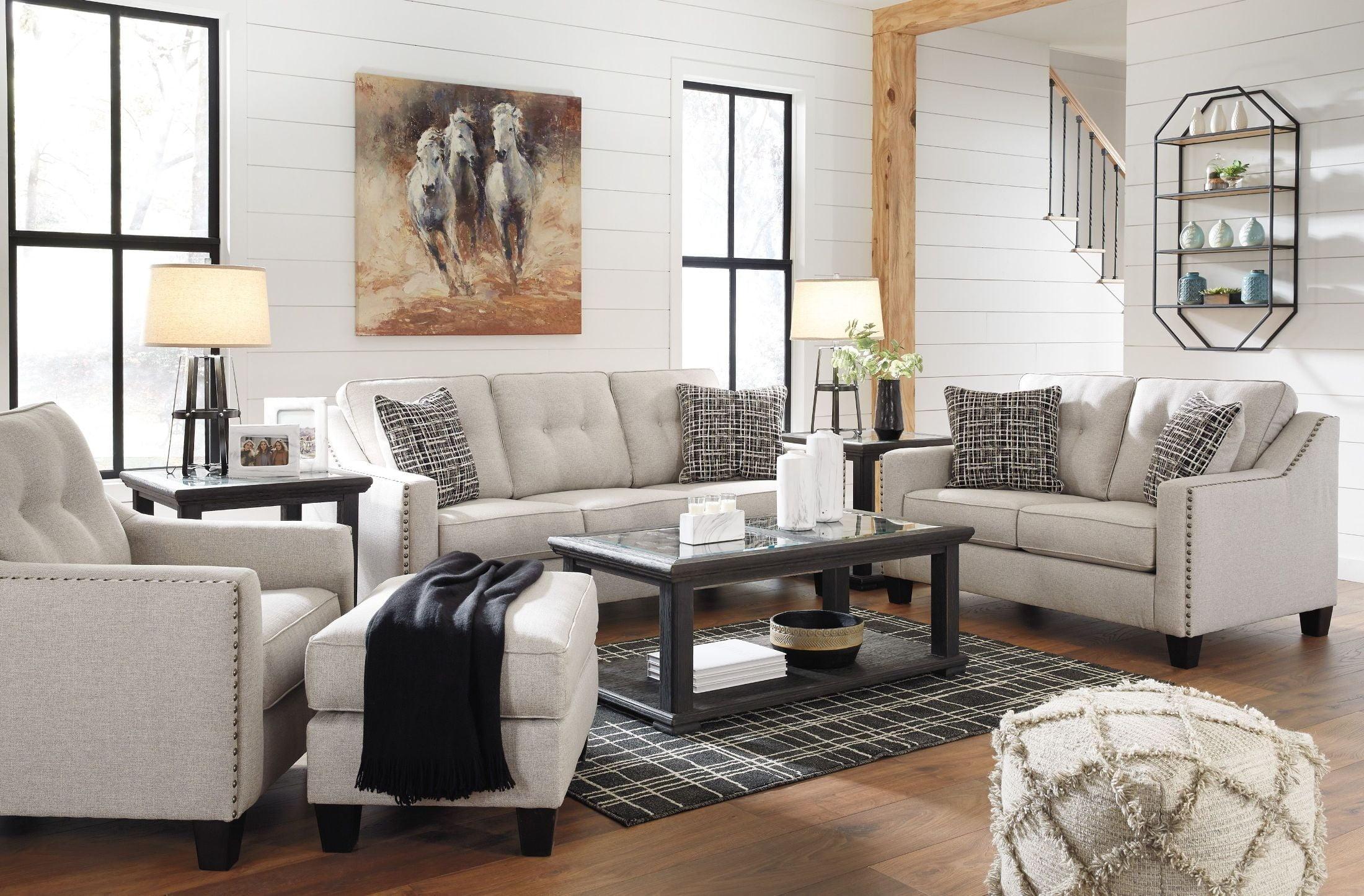 Marrero Cream Living Room Set