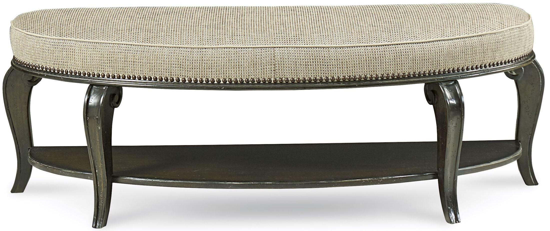 Continental Vintage Melange Bed Bench From Art Coleman Furniture