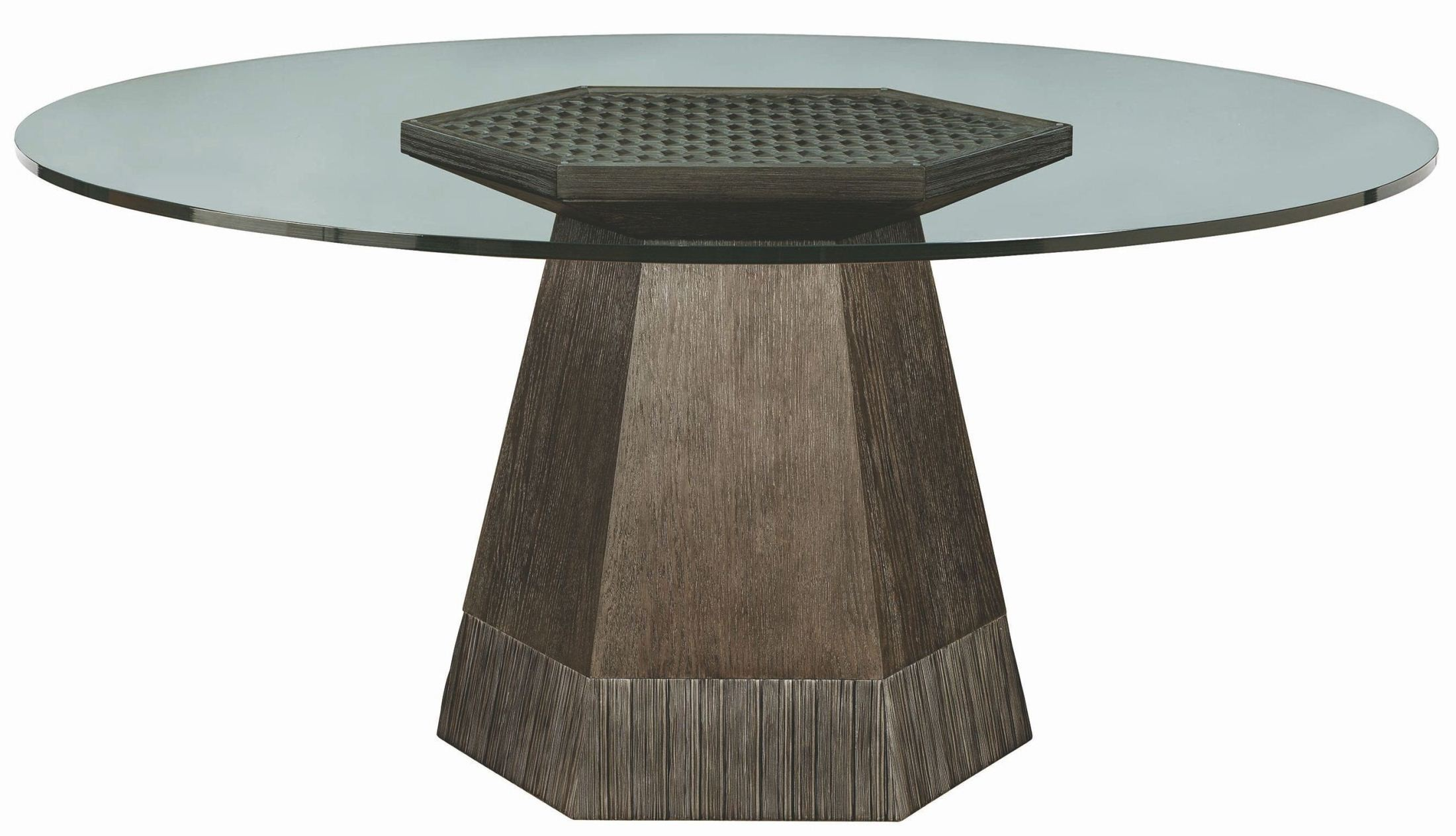 "Geode Warm Kona Bluff 60"" Dining Table from ART"