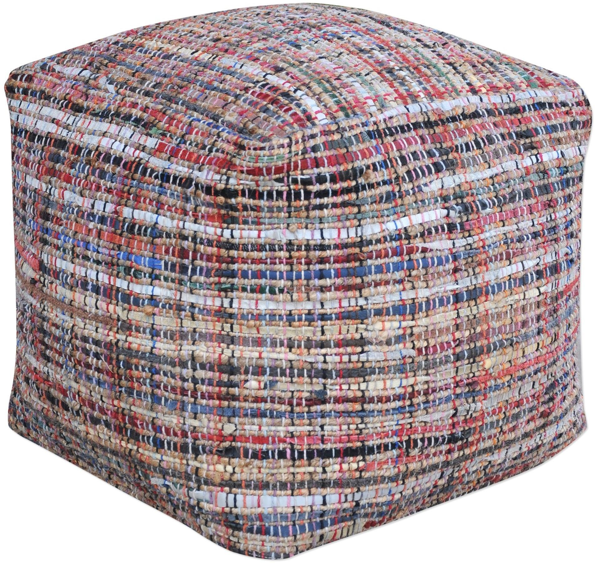 Nyala Multi Colored Pouf From Uttermost Coleman Furniture