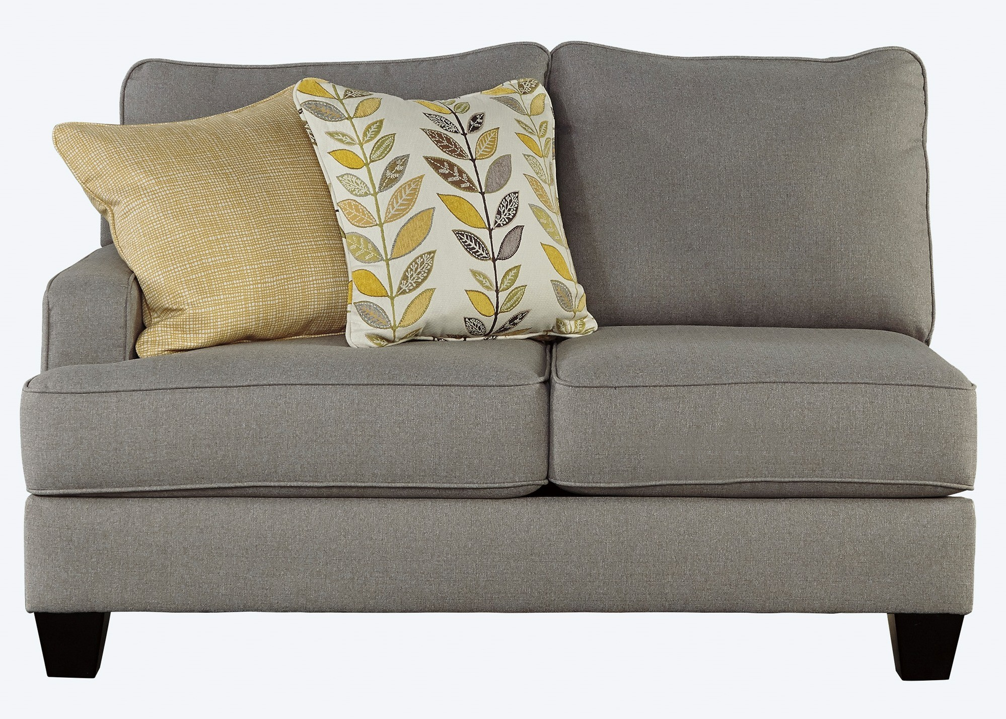 Chamberly Alloy Loveseat Sectional From Ashley 2430256