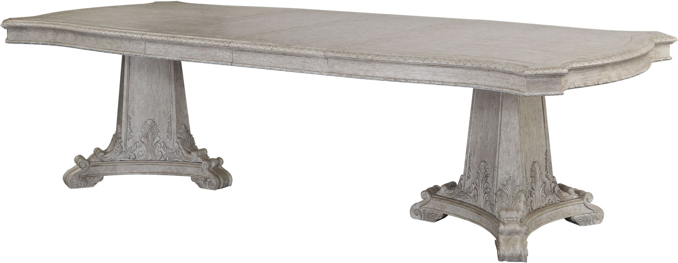 renaissance rectangular double pedestal dining table from art coleman furniture. Black Bedroom Furniture Sets. Home Design Ideas