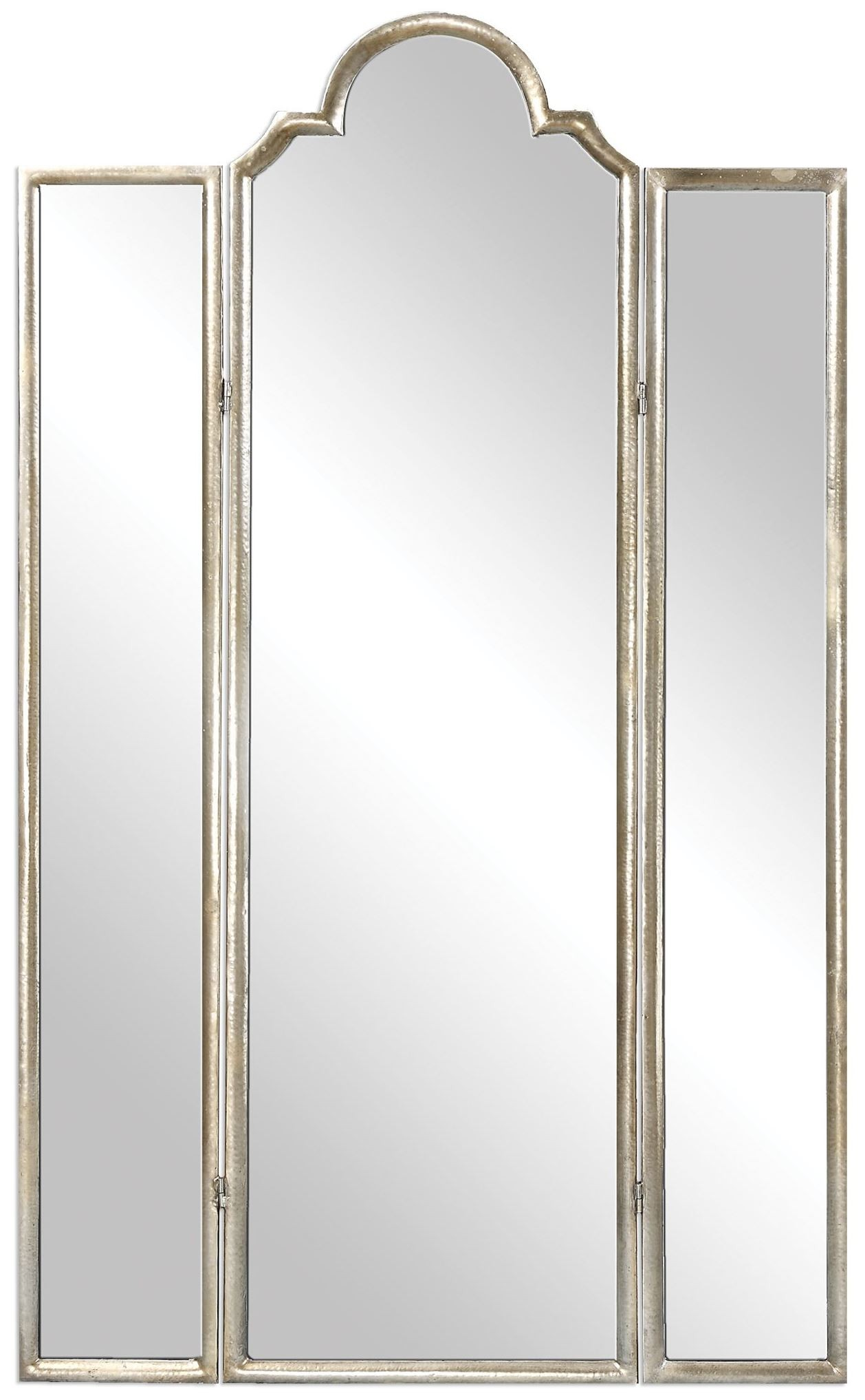 Neema three paneled mirror screen from uttermost 24604 for Mirror screen