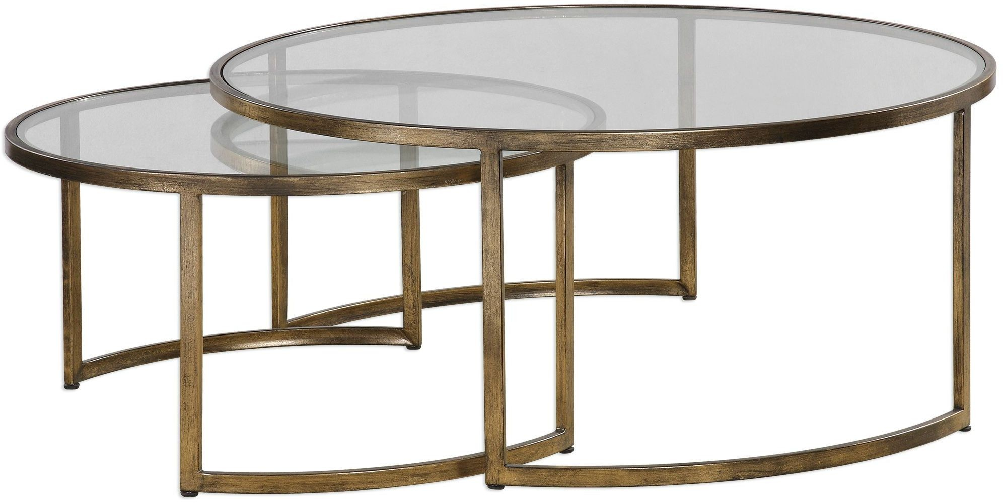 Rhea Nested Coffee Tables Set Of 2 From Uttermost Coleman Furniture