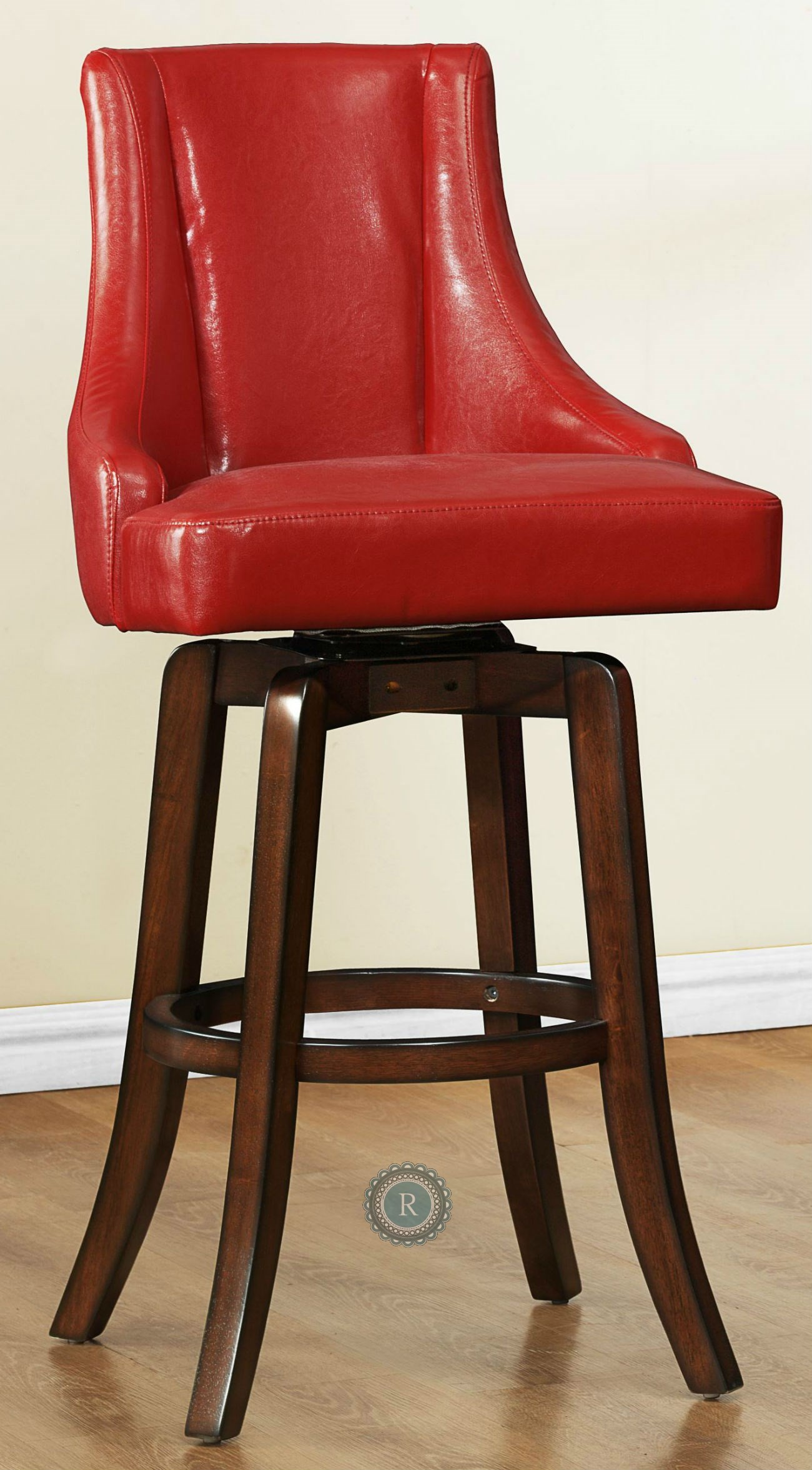 Annabelle Red Counter Height Chair from Homelegance (2479 ...