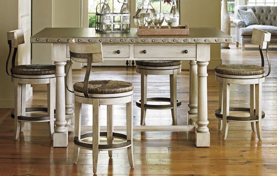 Oyster Bay Hidden Lake Bistro Counter Dining Set From