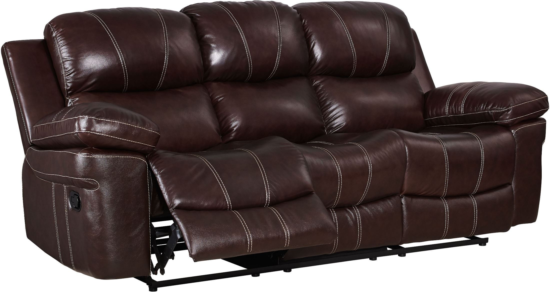 Legato Dark Brown Dual Reclining Living Room Set from New Classic