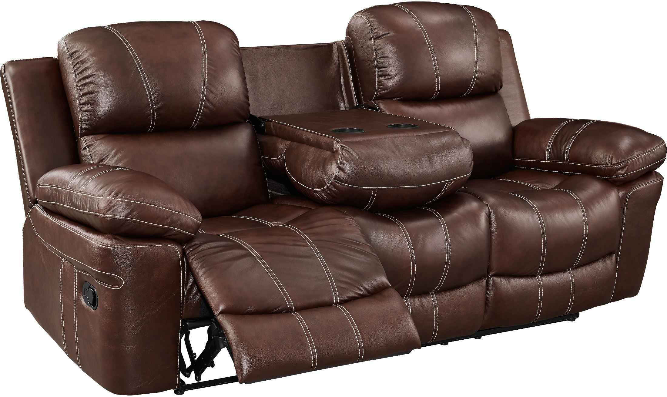 Legato Light Brown Dual Reclining Living Room Set from New Classic