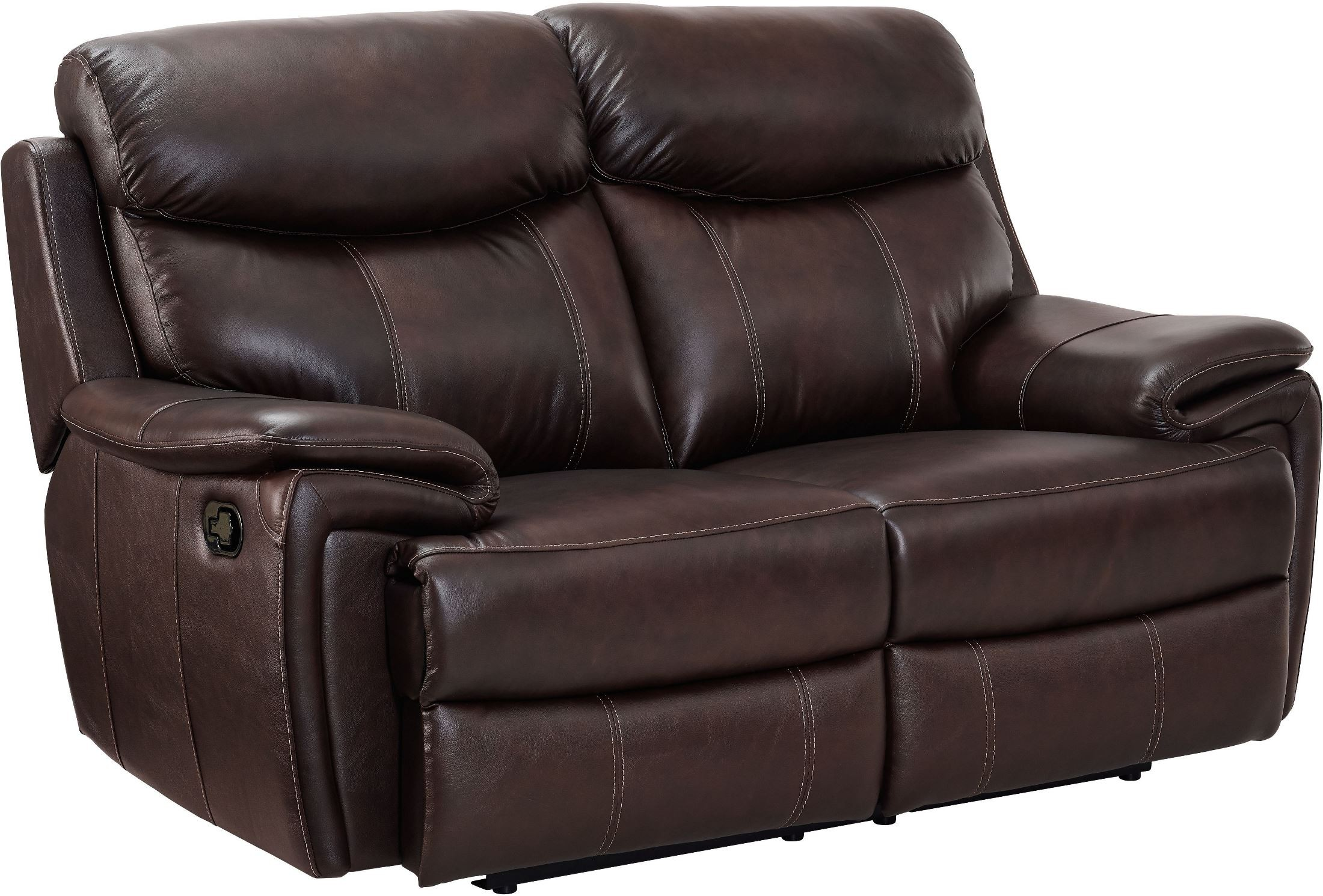 Aria Matte Brown Reclining Loveseat From New Classic Coleman Furniture