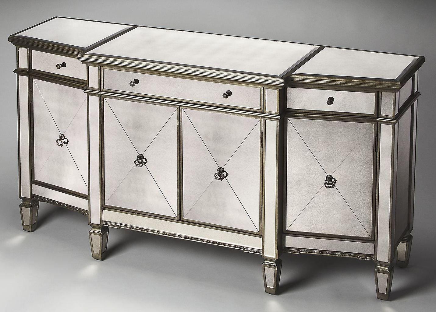 Celeste masterpiece mirror buffet from butler 2614146 for Miroir buffet