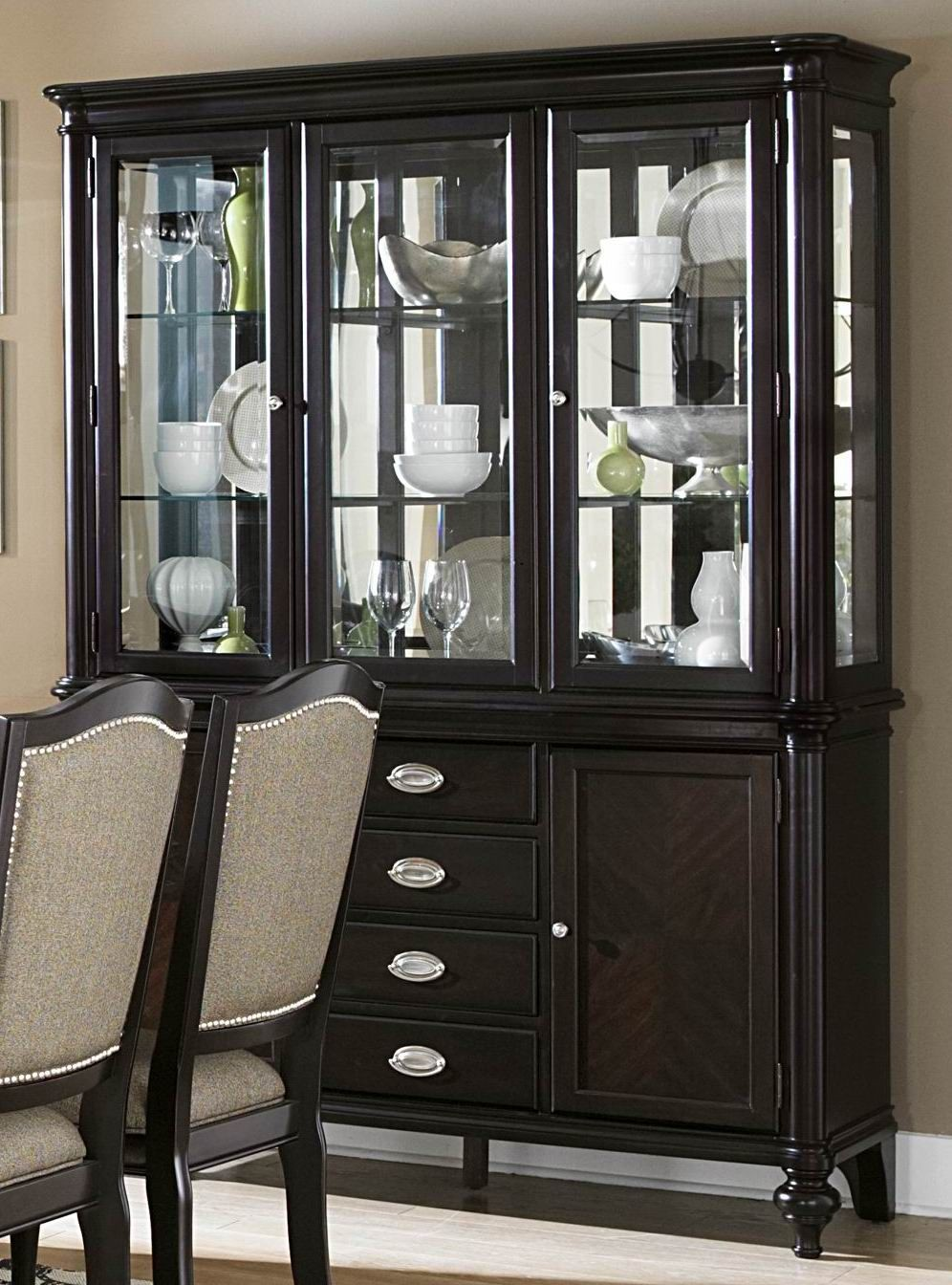 Marston Buffet Hutch From Homelegance 2615DC 50 55